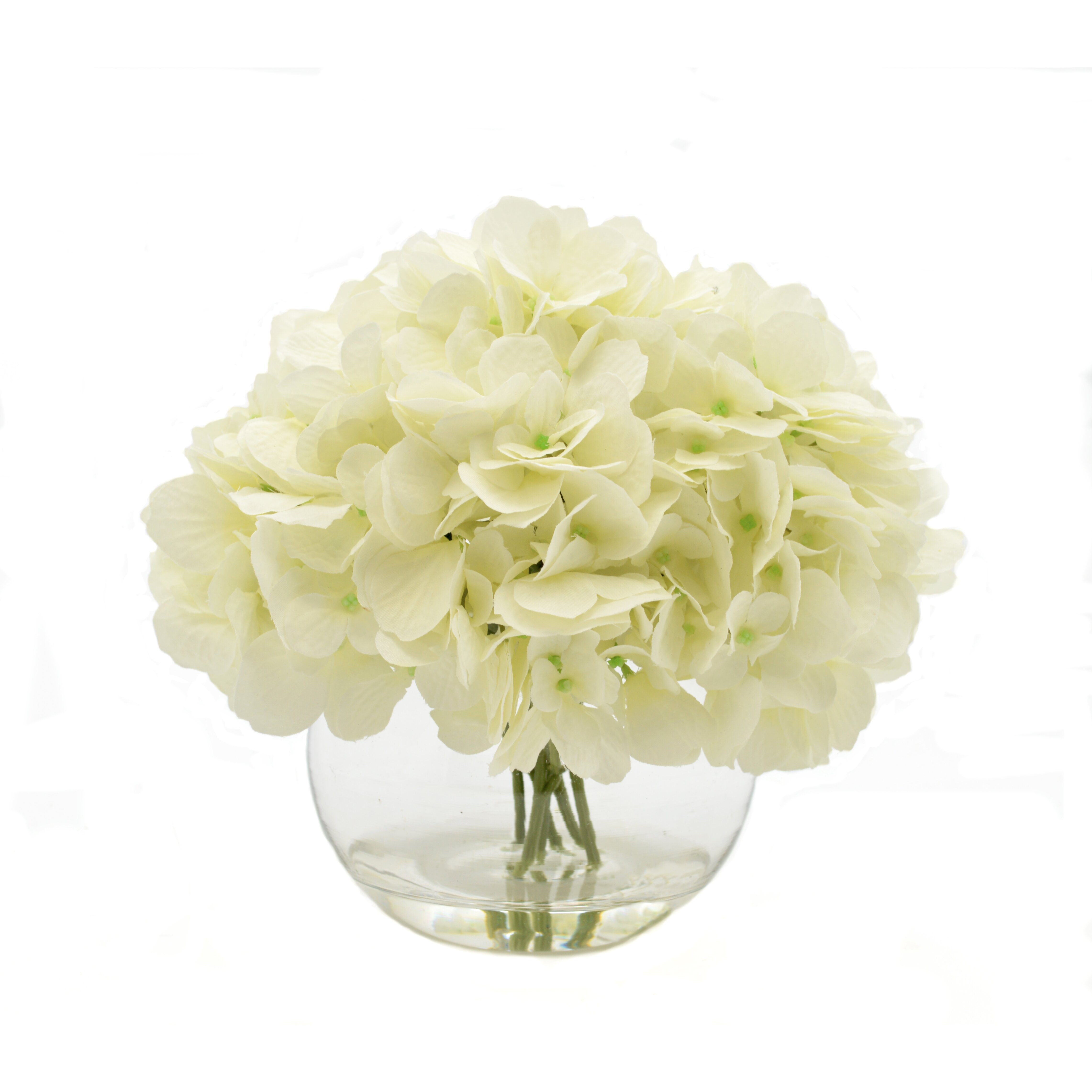 Creative Displays Inc White Hydrangea Floral