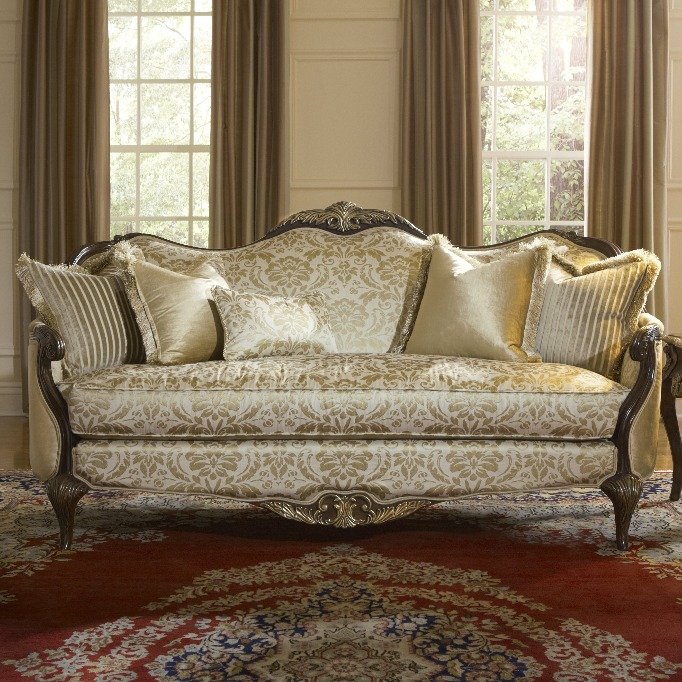 Wayfair Com Sales: Michael Amini Imperial Court Living Room Set & Reviews