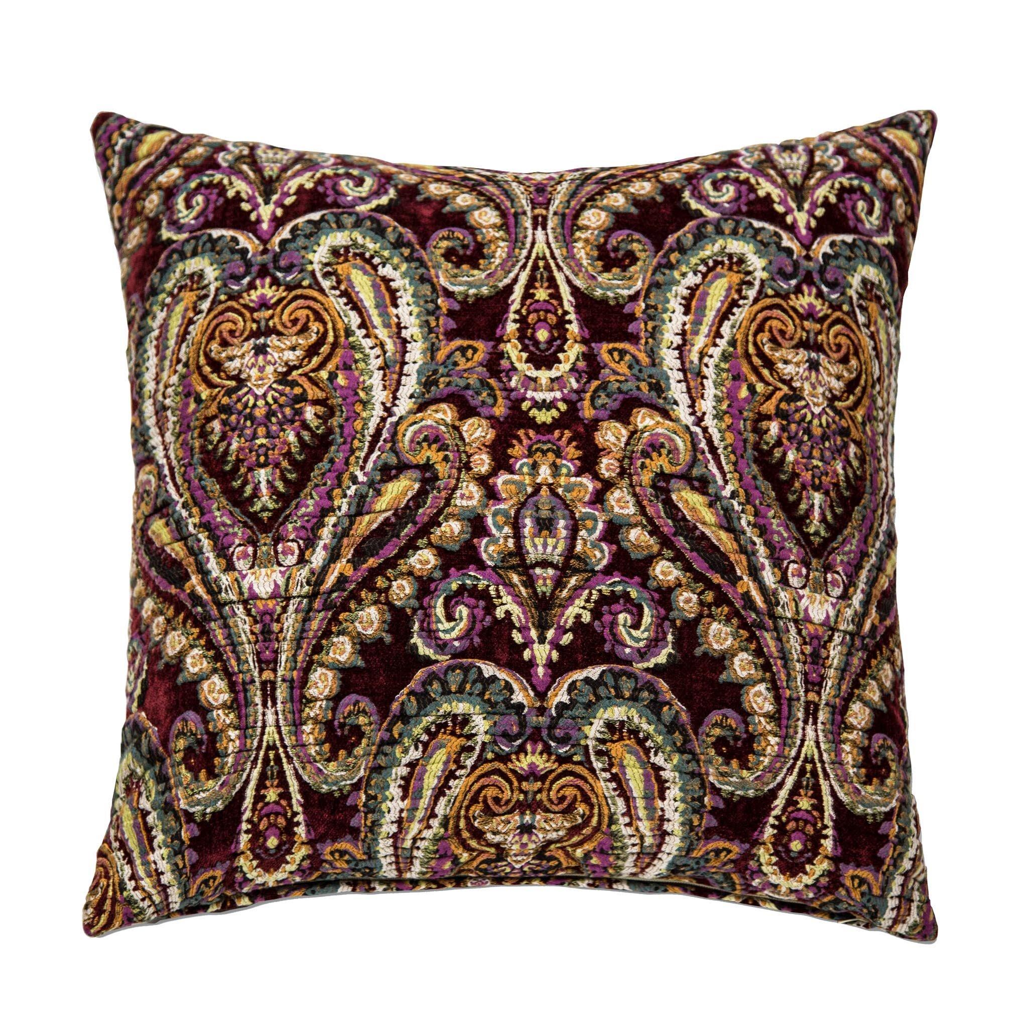 Throw Pillows Matching Curtains : Michael Amini Hudson Throw Pillow Wayfair