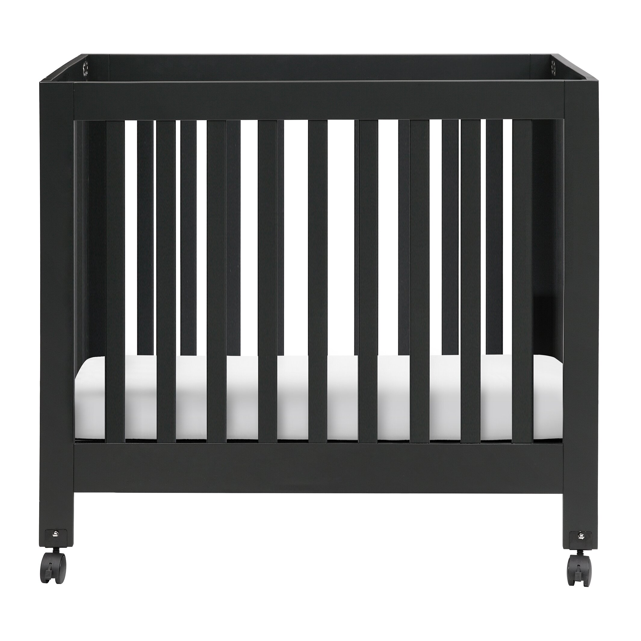 babyletto origami mini crib with mattress pad amp reviews