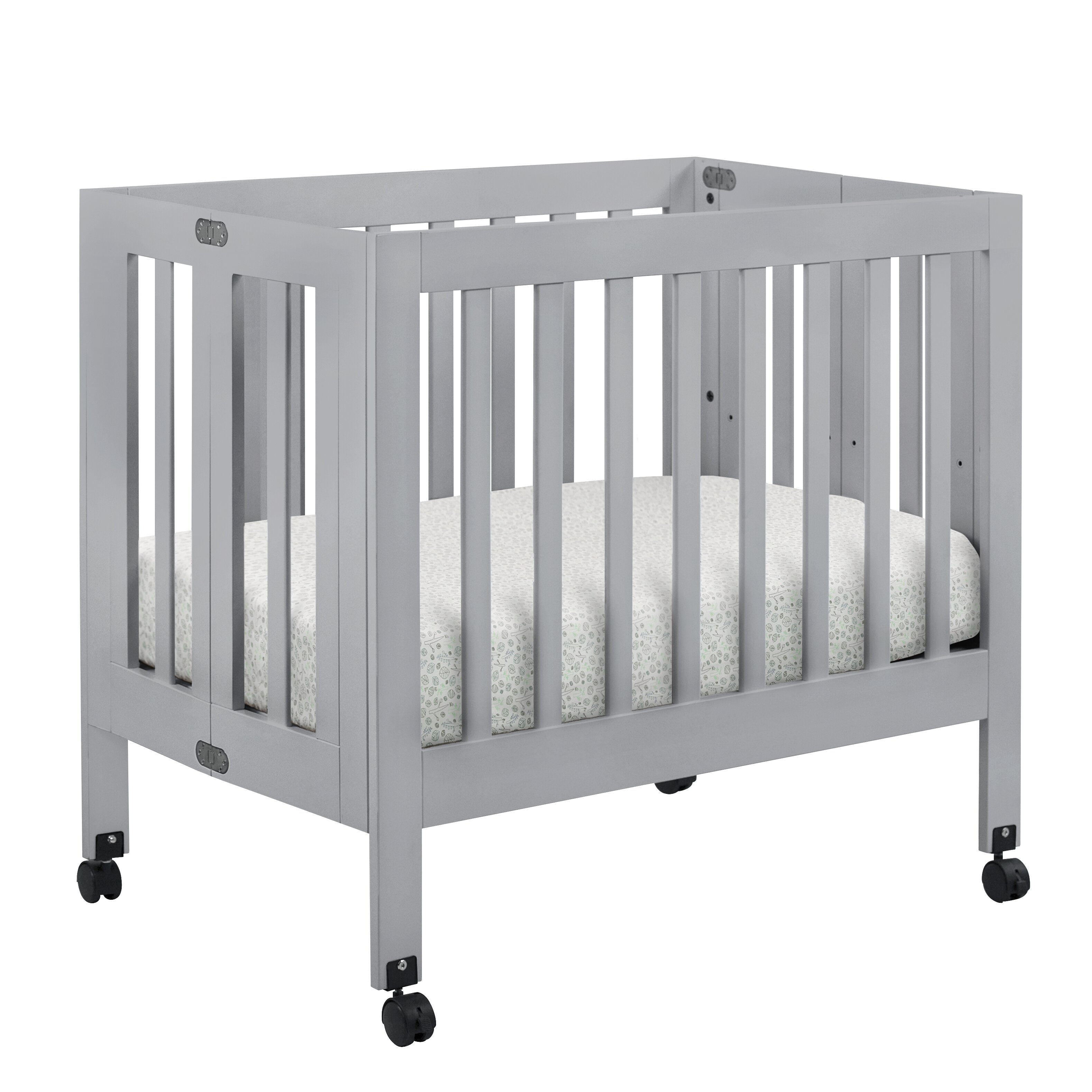 babyletto Origami Mini Crib with Mattress & Reviews