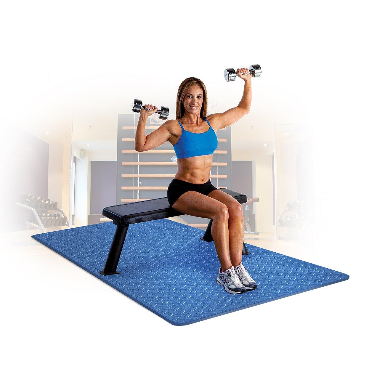 Sivan Anti Fatigue Grip Roll Exercise Mat