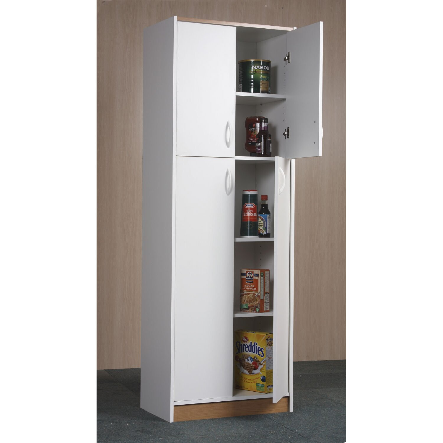 Mylex 72 kitchen pantry reviews wayfair for Kitchen cabinets pantry