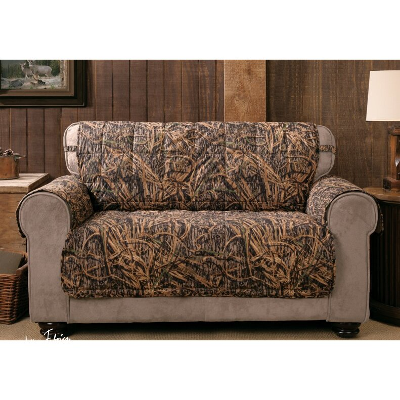 Innovative Textile Solutions Shadow Grass Loveseat Slipcover Reviews Wayfair