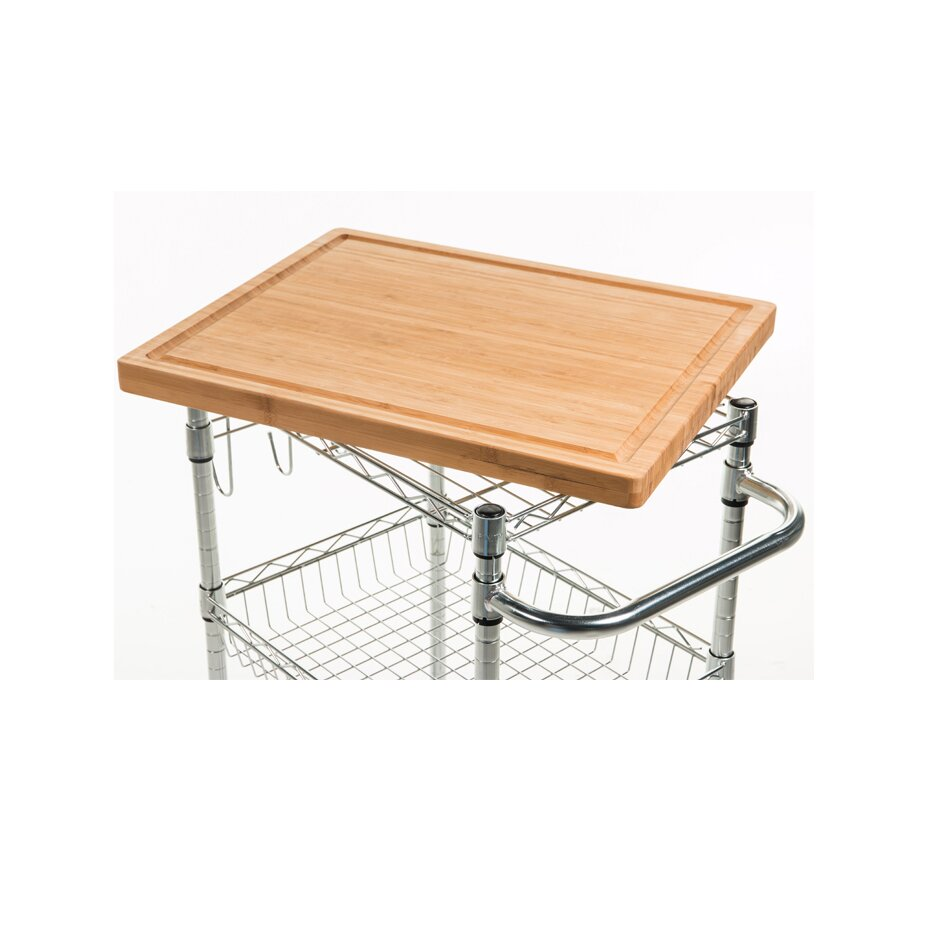 Trinity Wood Kitchen Cart