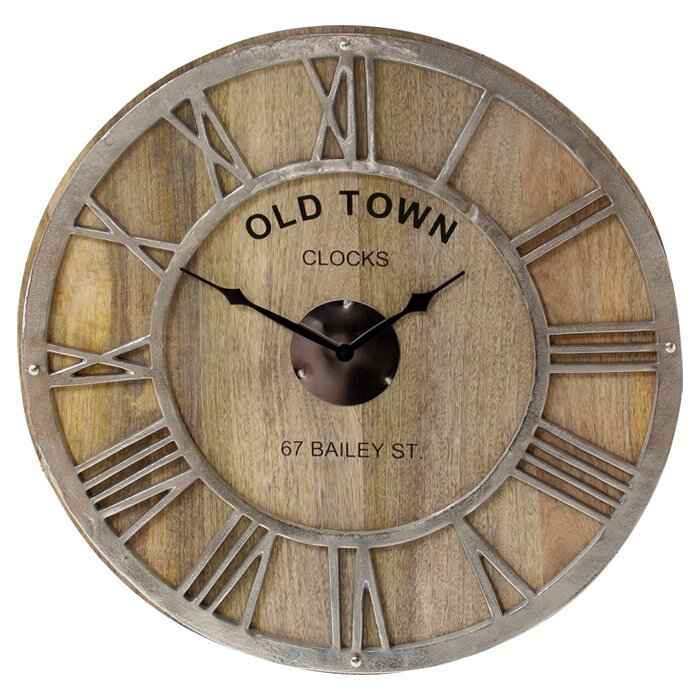 Pacific Lifestyle Oversized 61cm Old Town Wall Clock