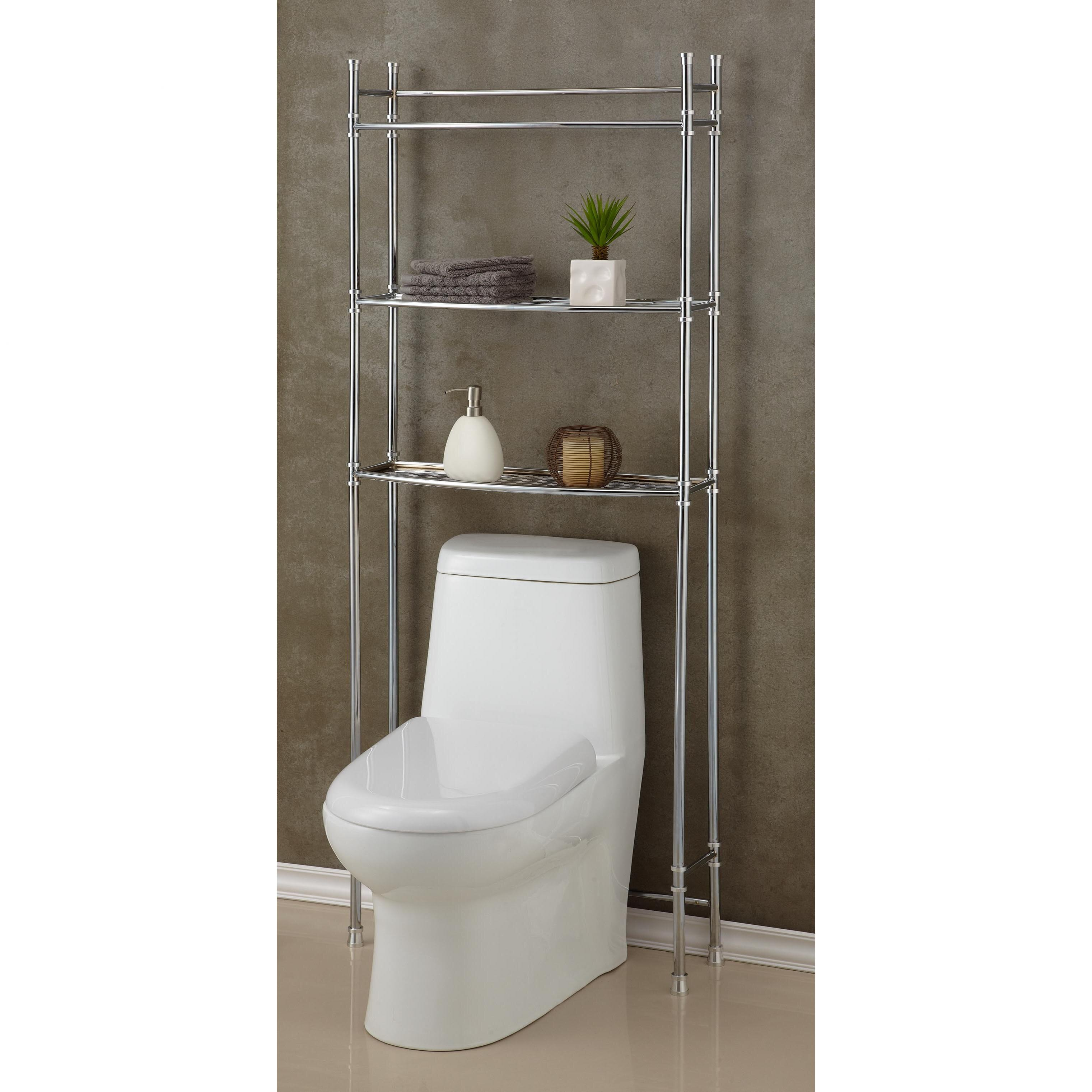 fox hill trading 25 w x 63 h over the toilet storage reviews wayfair. Black Bedroom Furniture Sets. Home Design Ideas