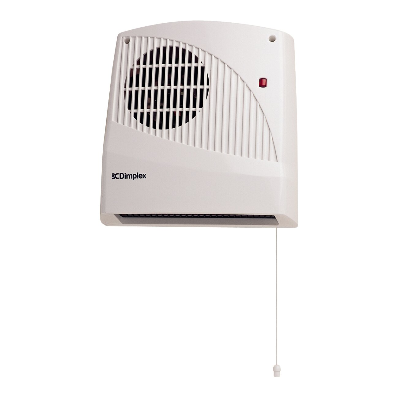 dimplex 2000 watt wall mounted electric fan heater with. Black Bedroom Furniture Sets. Home Design Ideas