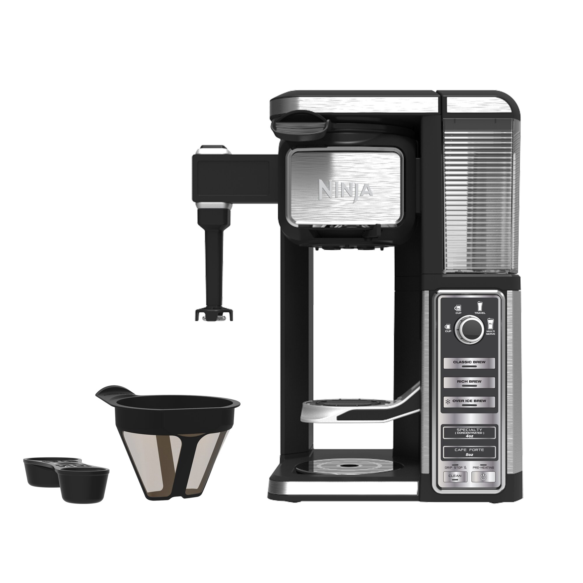 Ninja coffee maker reviews wayfair for Apartment size coffee maker