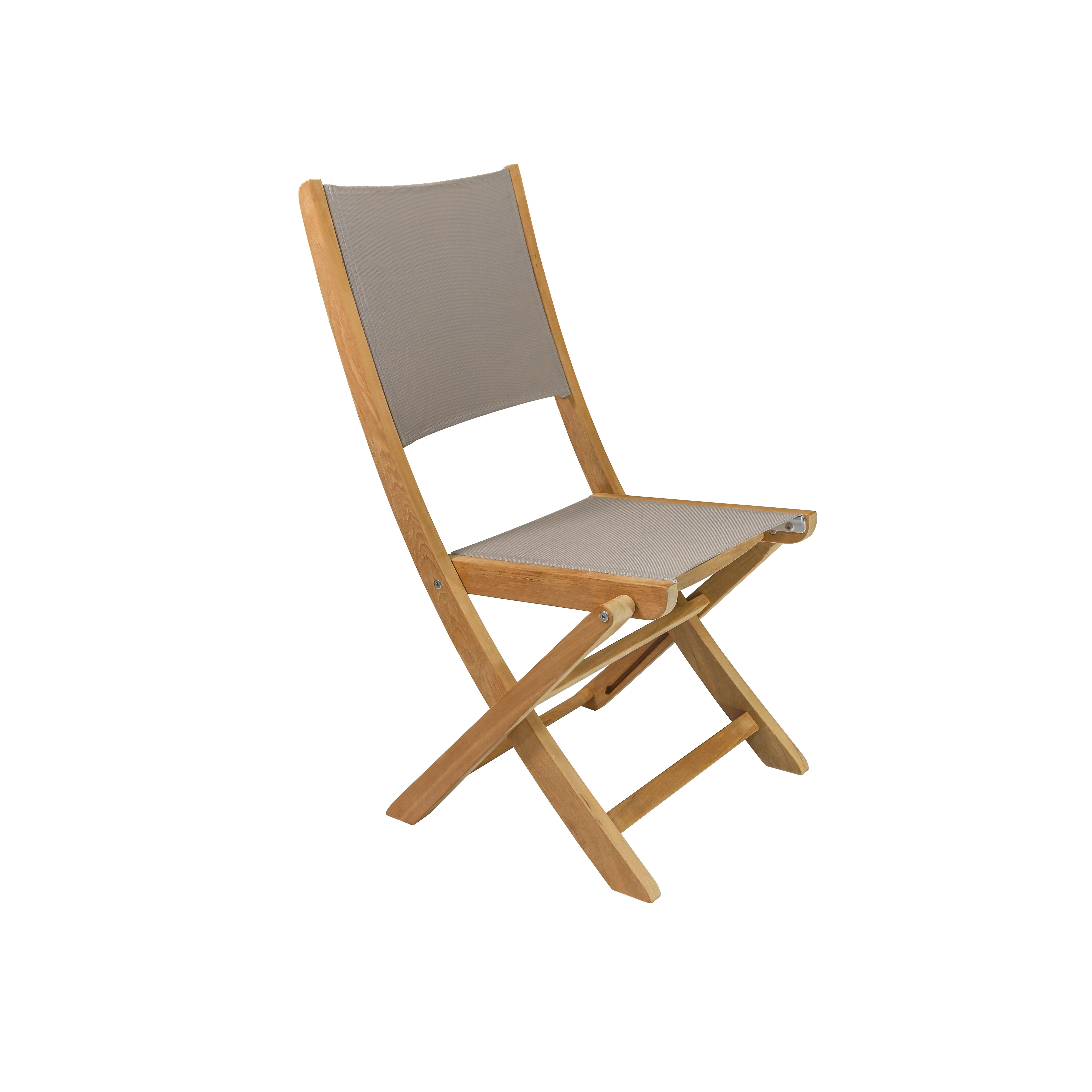 HiTeak Furniture Stella Folding Dining Side Chair ...