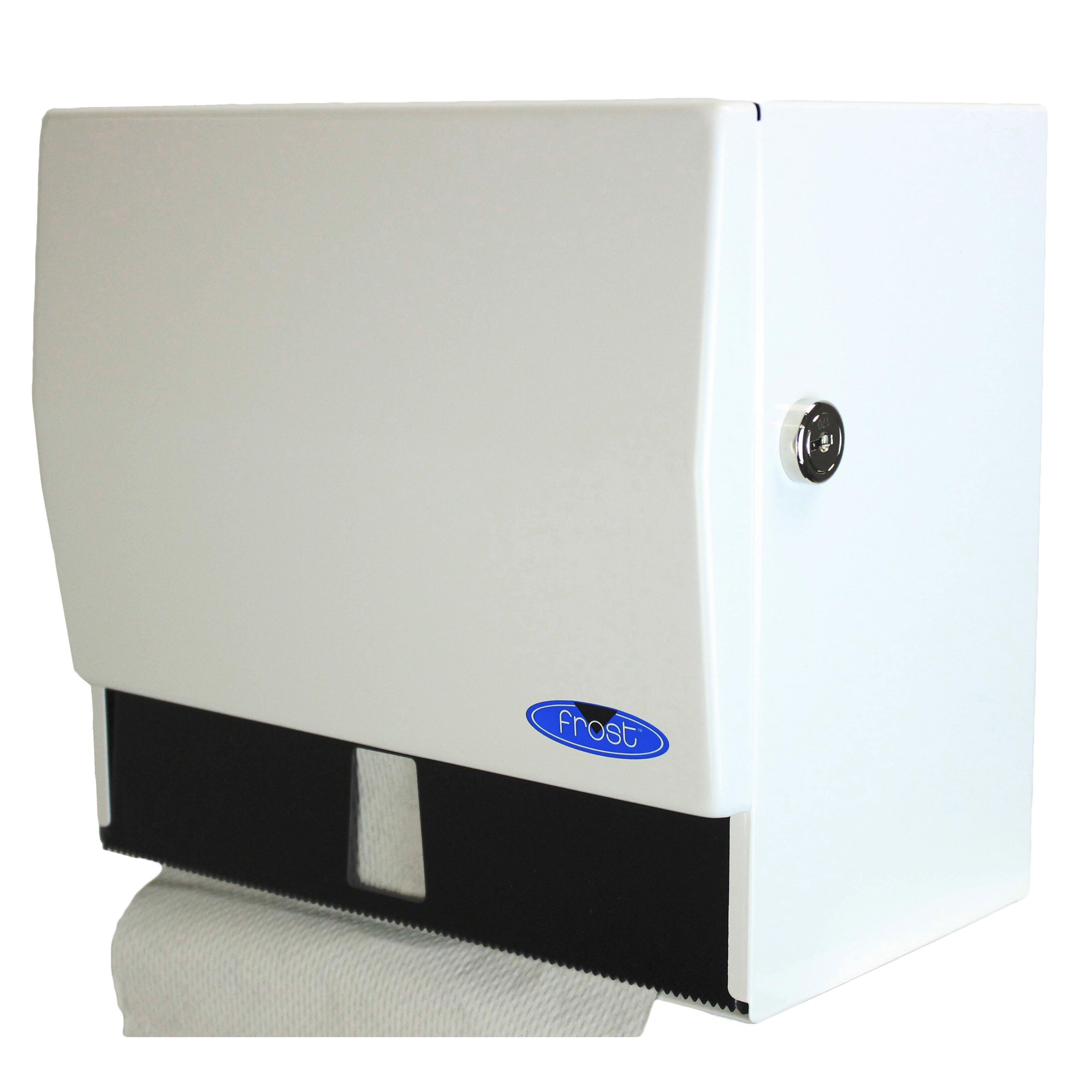 Frost Universal Paper Towel Dispenser With Lock Wayfair