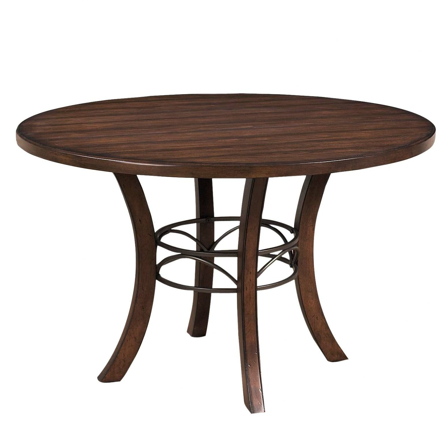 Hillsdale cameron round dining table reviews wayfair for Wayfair furniture dining tables