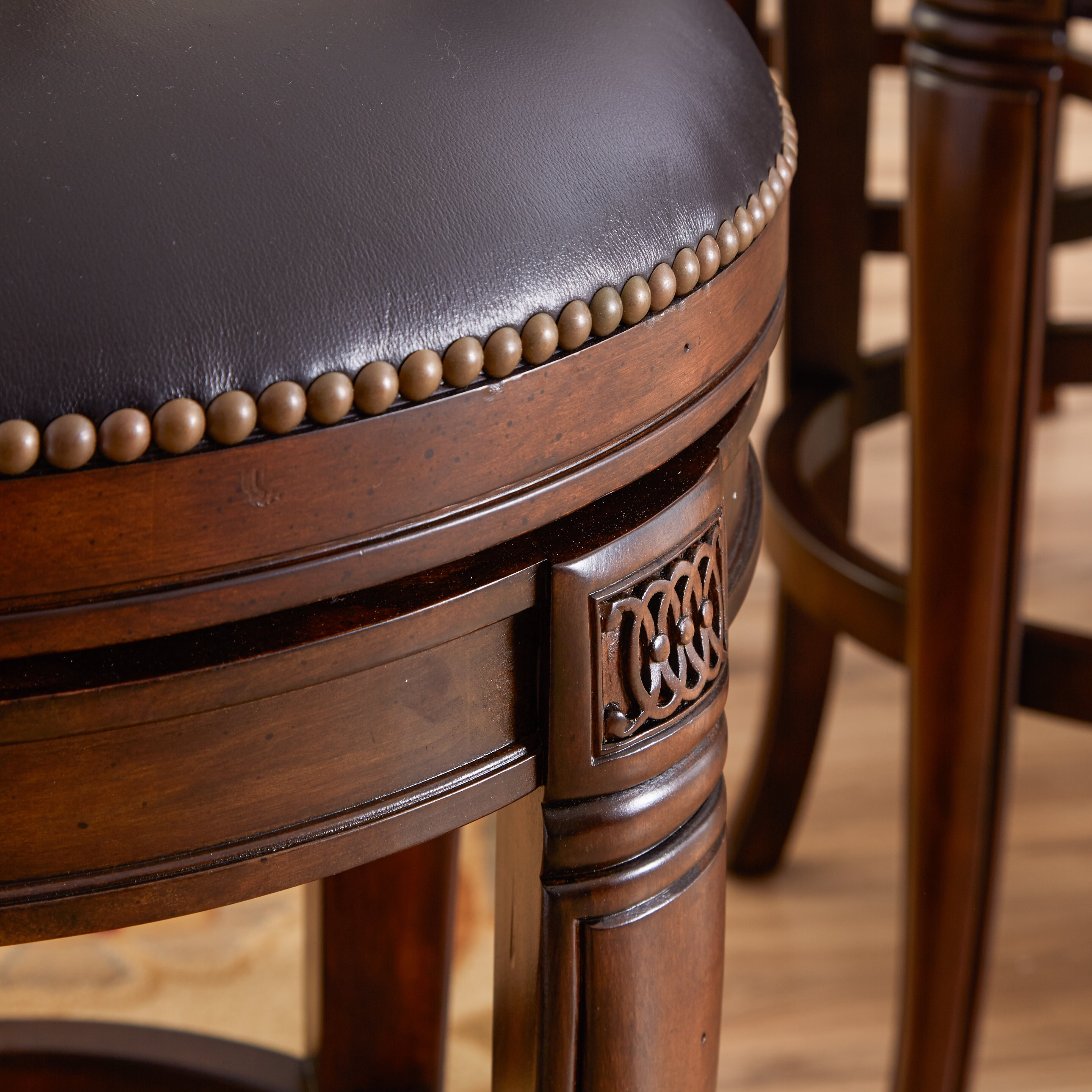 Hillsdale Montello 30 Quot Swivel Bar Stool With Cushion