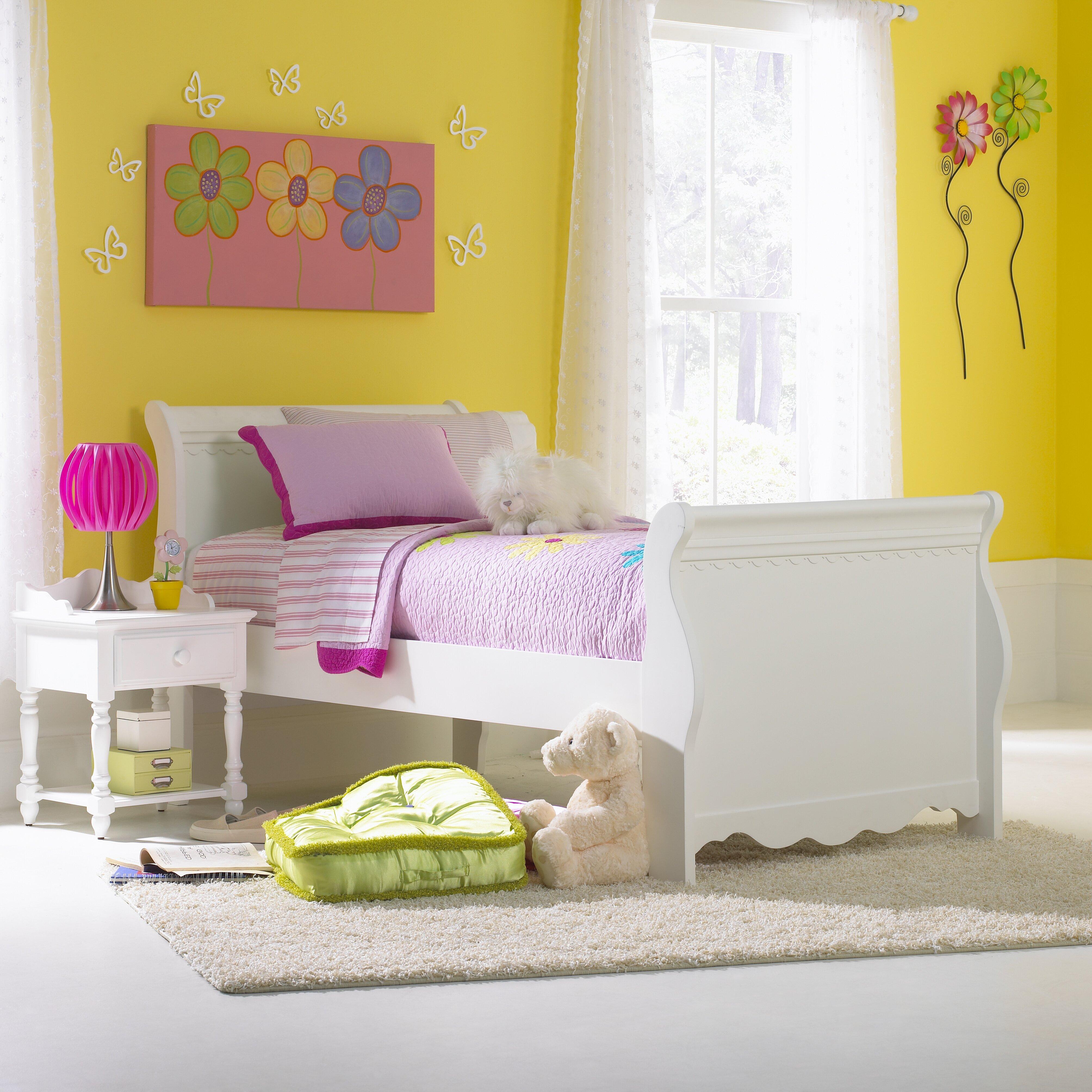 Hillsdale Lauren Sleigh Customizable Bedroom Set & Reviews