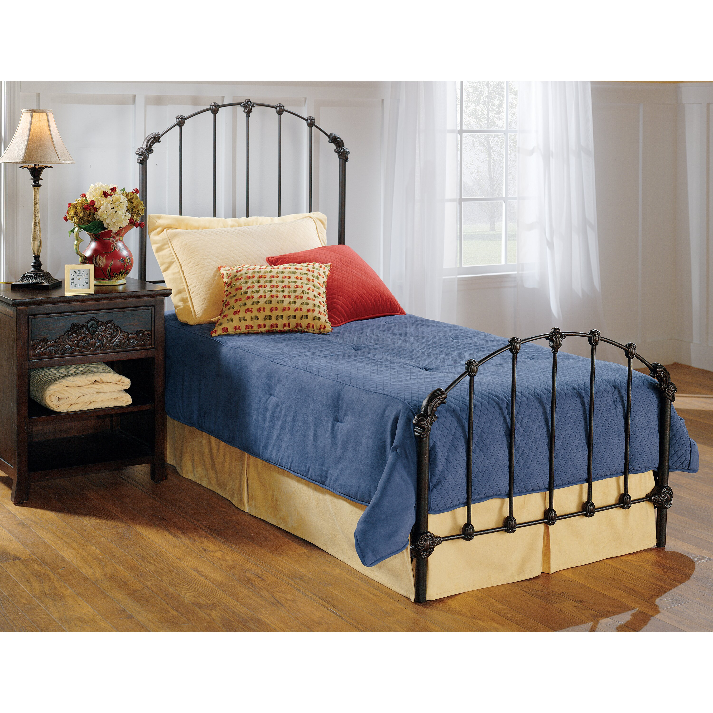 Hillsdale bonita platform bed reviews wayfair for Furniture 2 day shipping