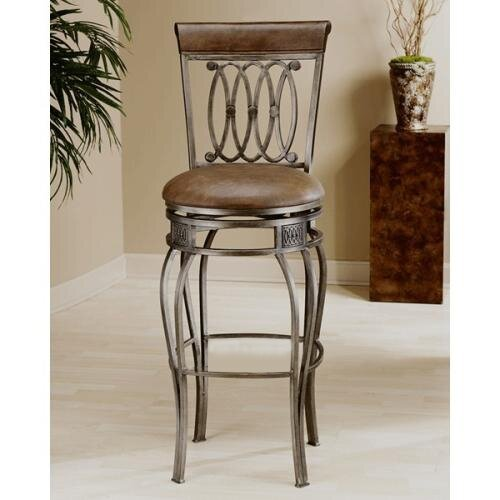 Hillsdale Easy Assembly Montello 24 Quot Swivel Bar Stool
