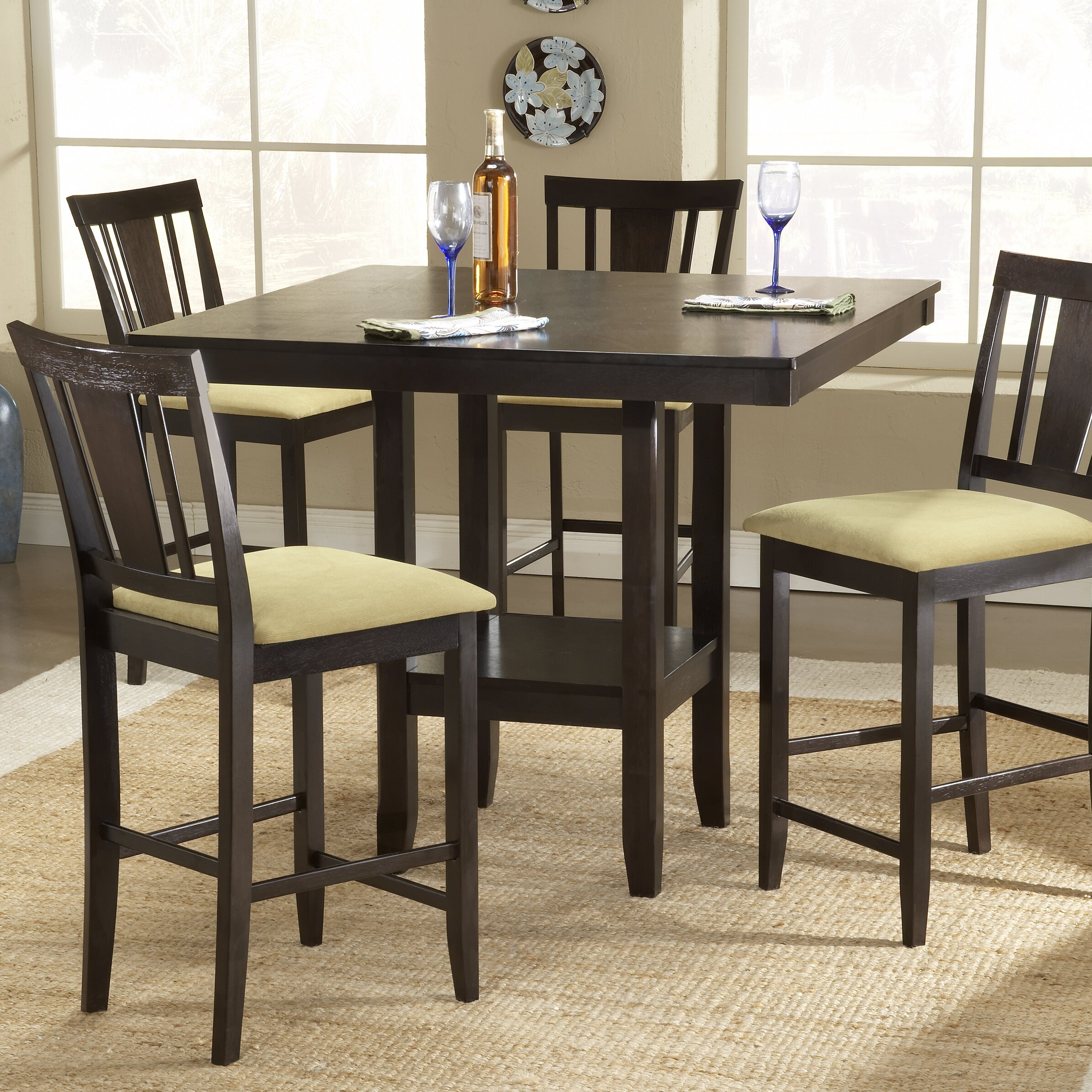 Hillsdale arcadia counter height dining table reviews for Wayfair dining table
