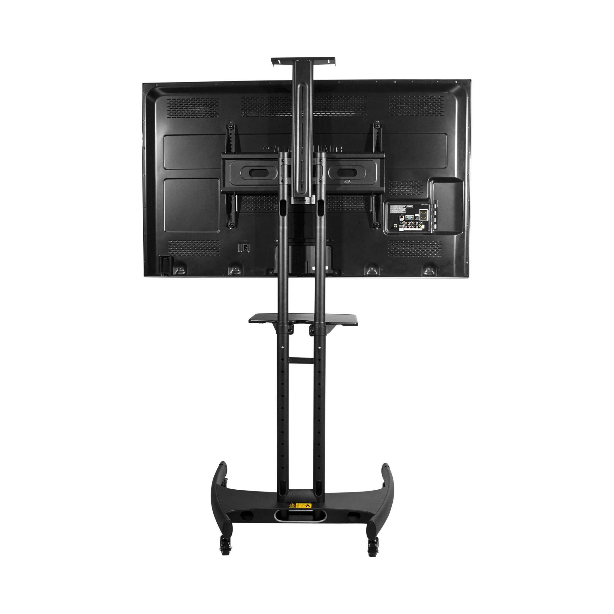 Kanto Mobile Tv Stand For 37 65 Flat Panel Screens