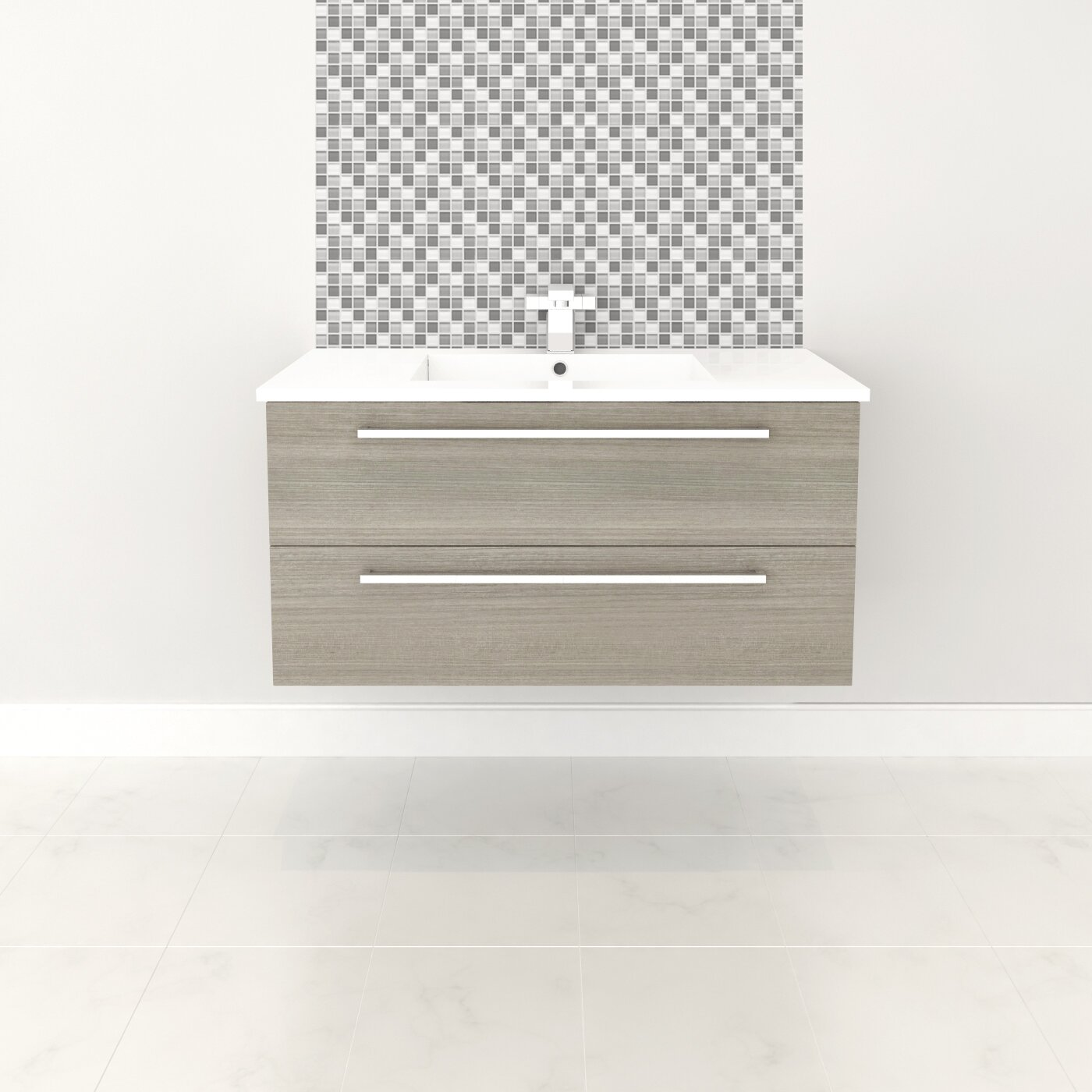 Cutler Kitchen Amp Bath Silhouette 36 Quot Single Bathroom