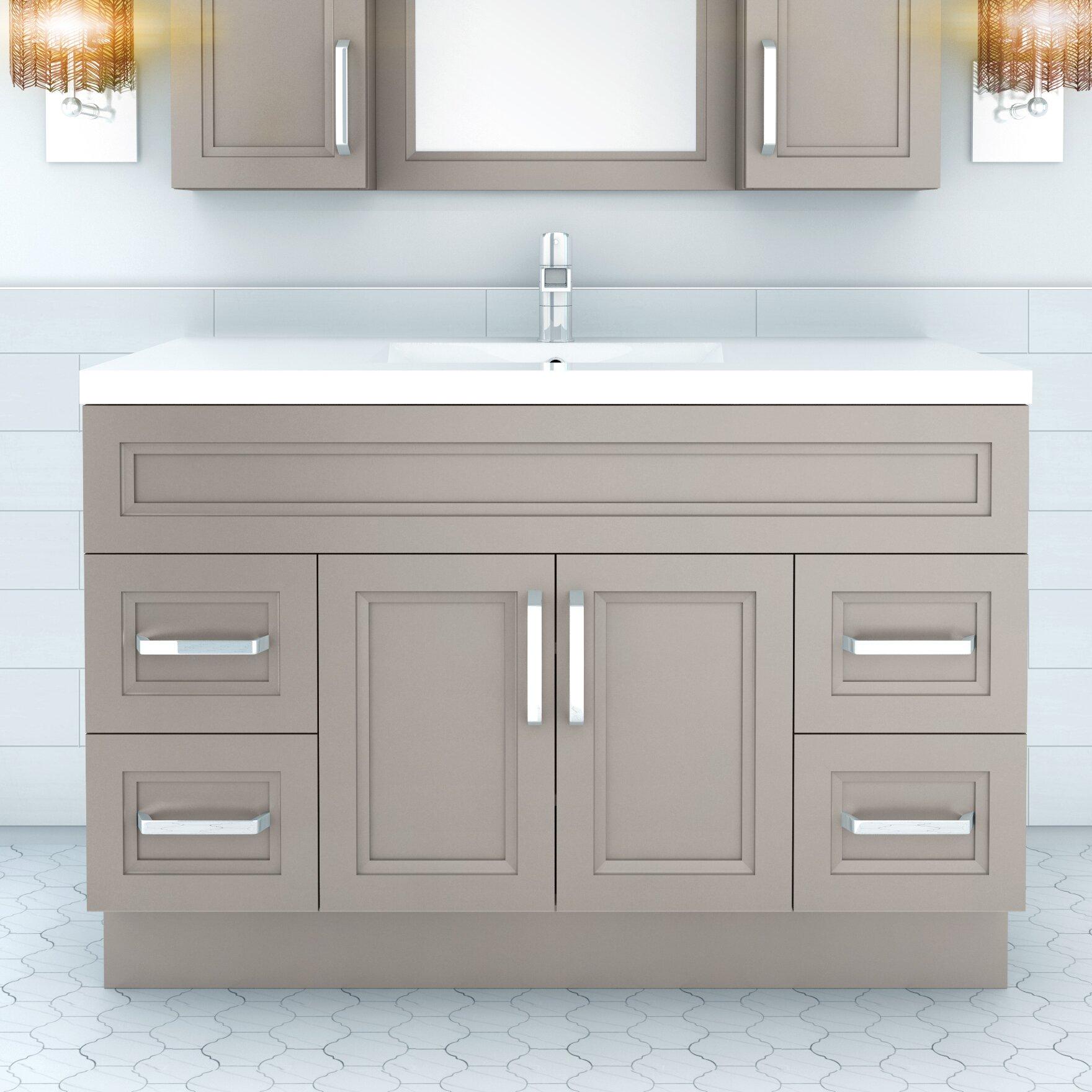 "Cutler Kitchen & Bath Urban 48"" Vanity Single Bowl"