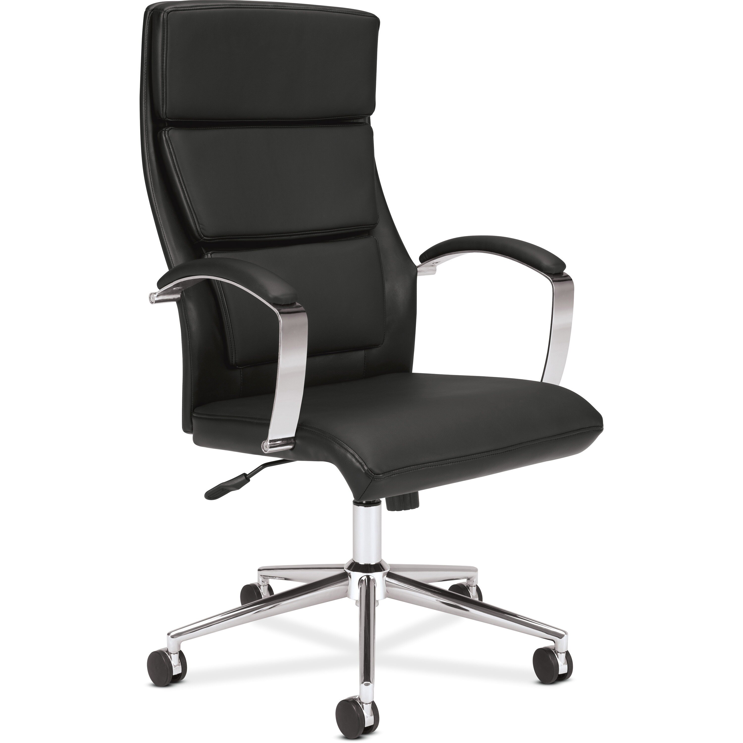 Basyx duo edge leather executive chair amp reviews wayfair supply