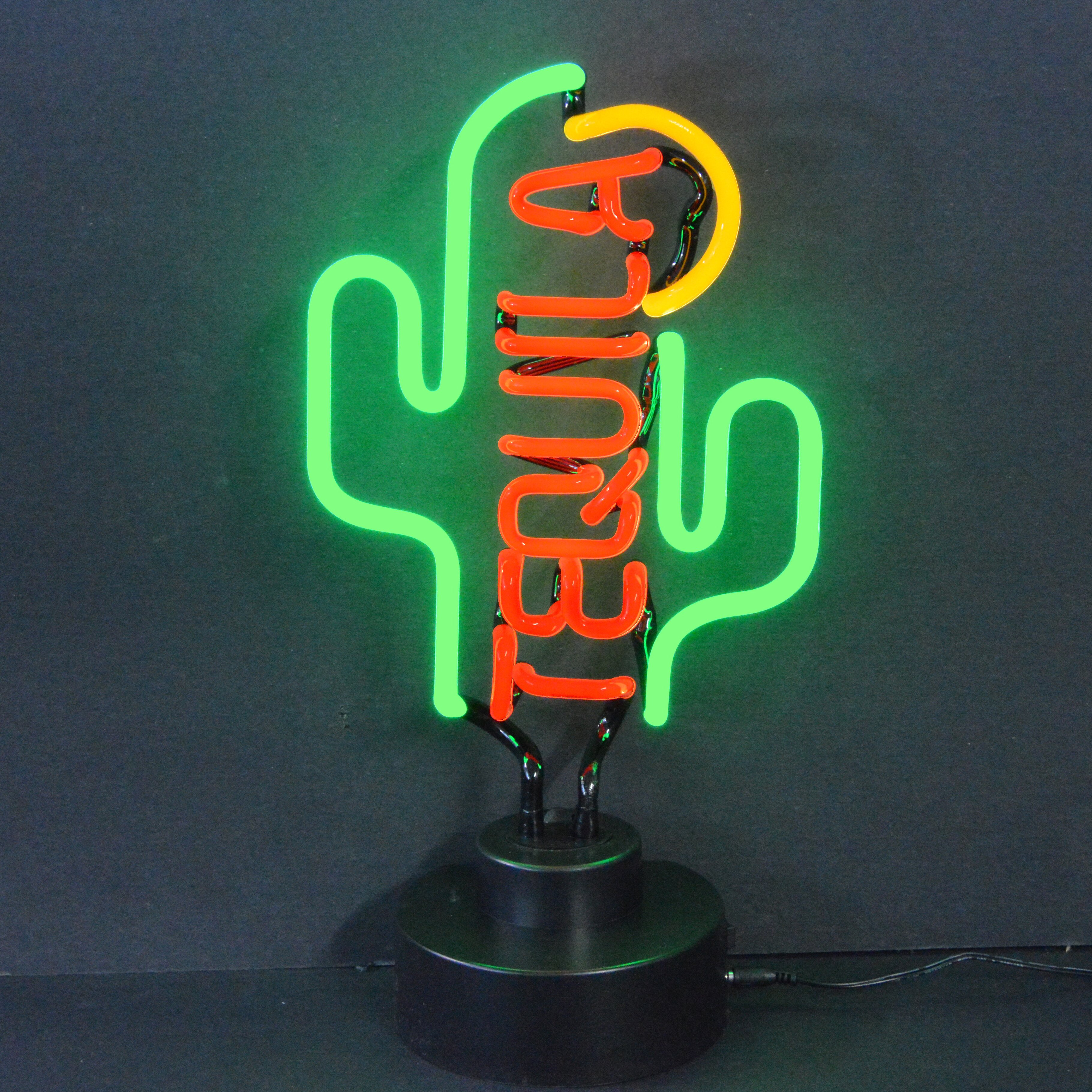 Neonetics Business Signs Tequila Cactus Neon Sign ...
