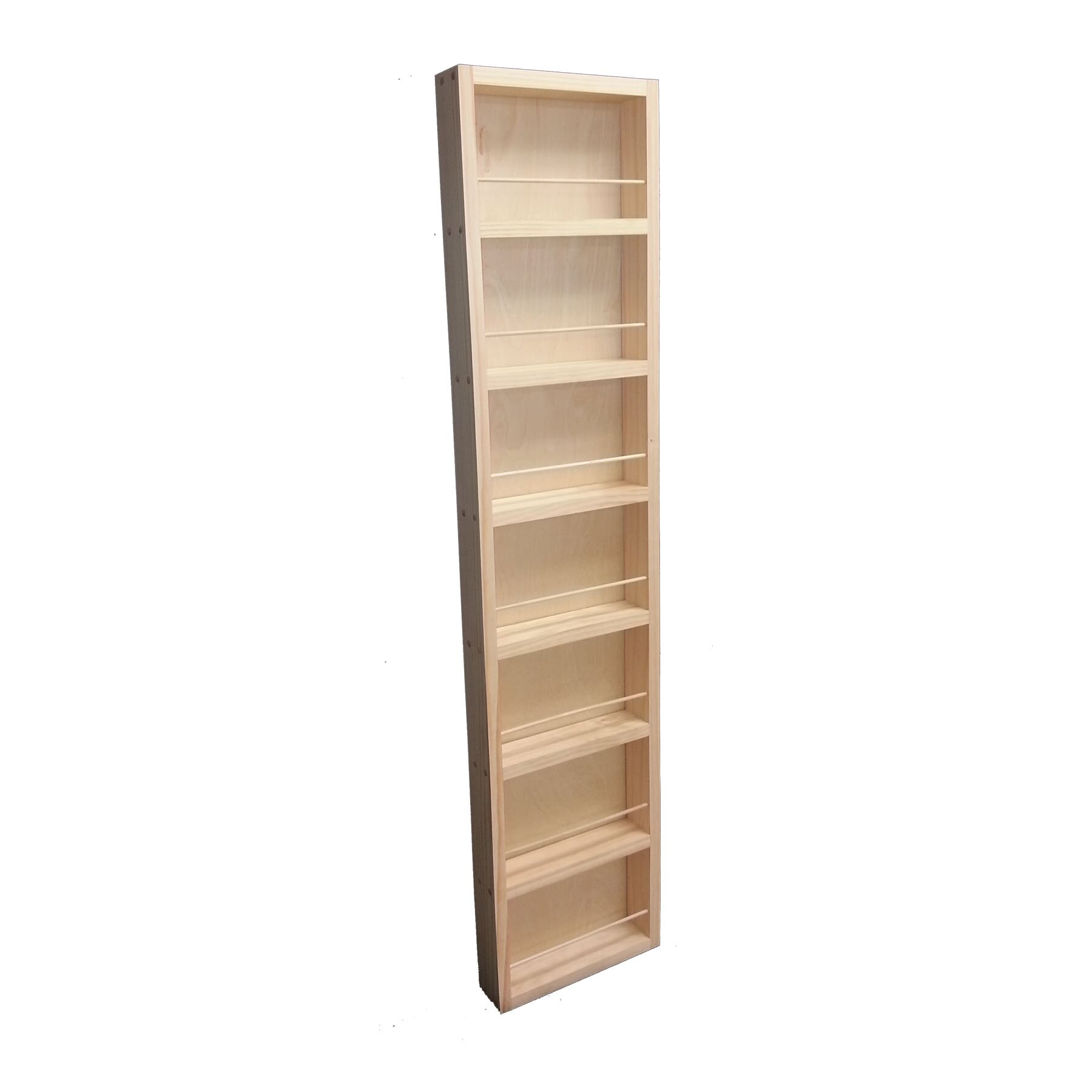 Wg Wood Products Midland Wall Mounted Spice Rack Amp Reviews