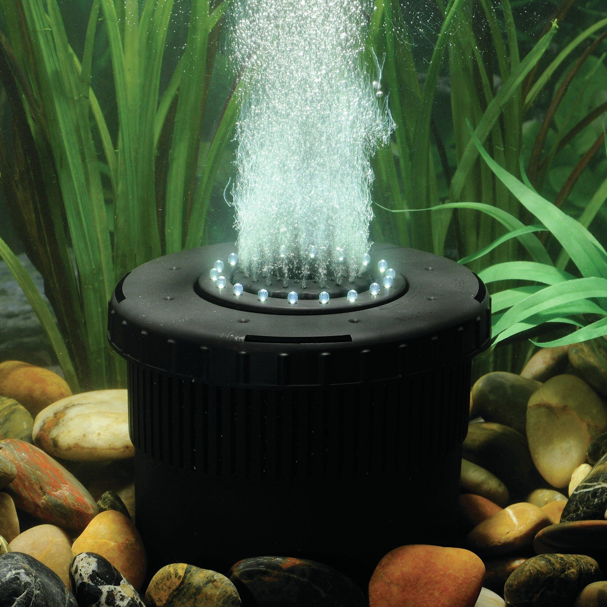 Pond boss pond aerator reviews wayfair for Fish pond aerator