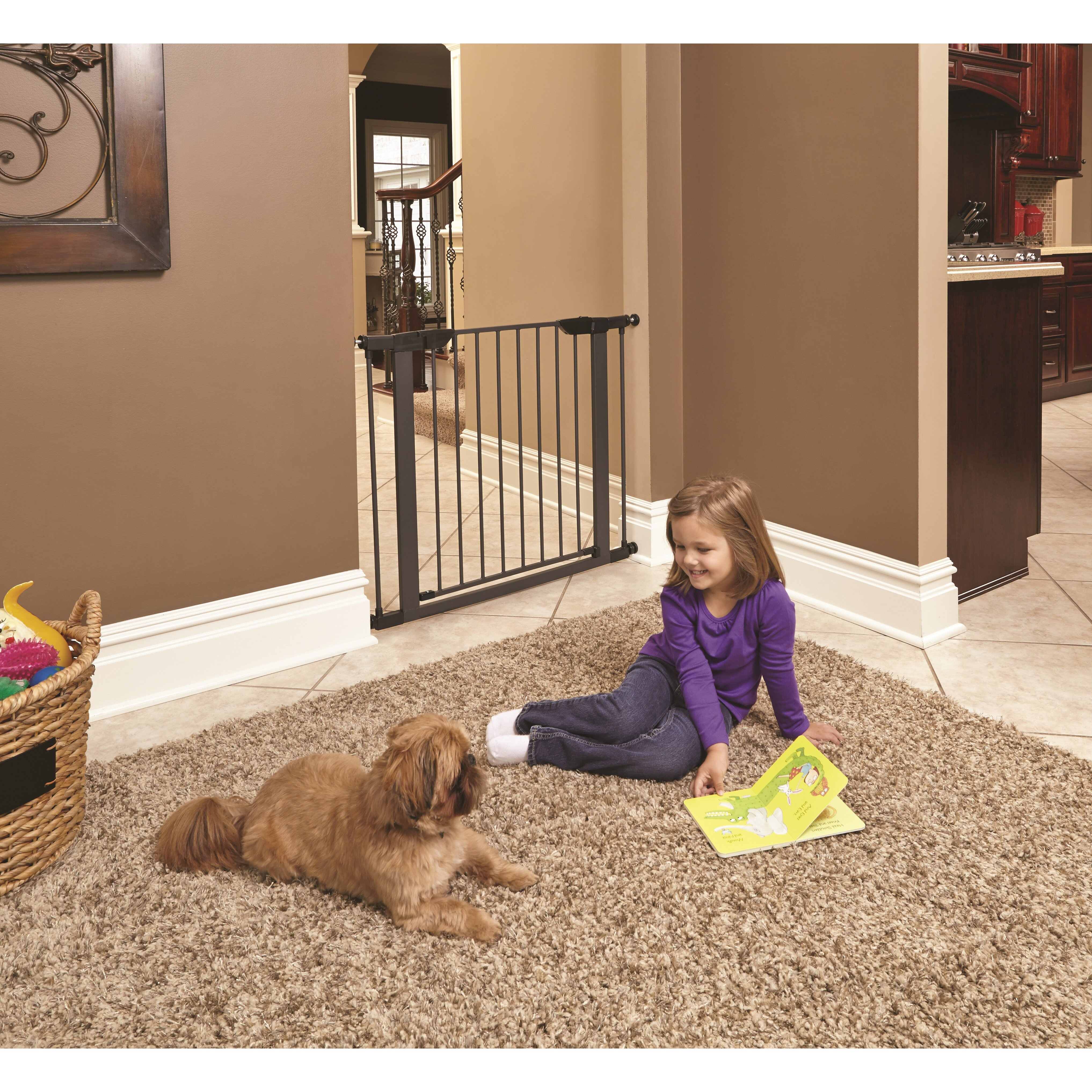 Midwest Homes For Pets Steel Pressure Mounted Pet Gate