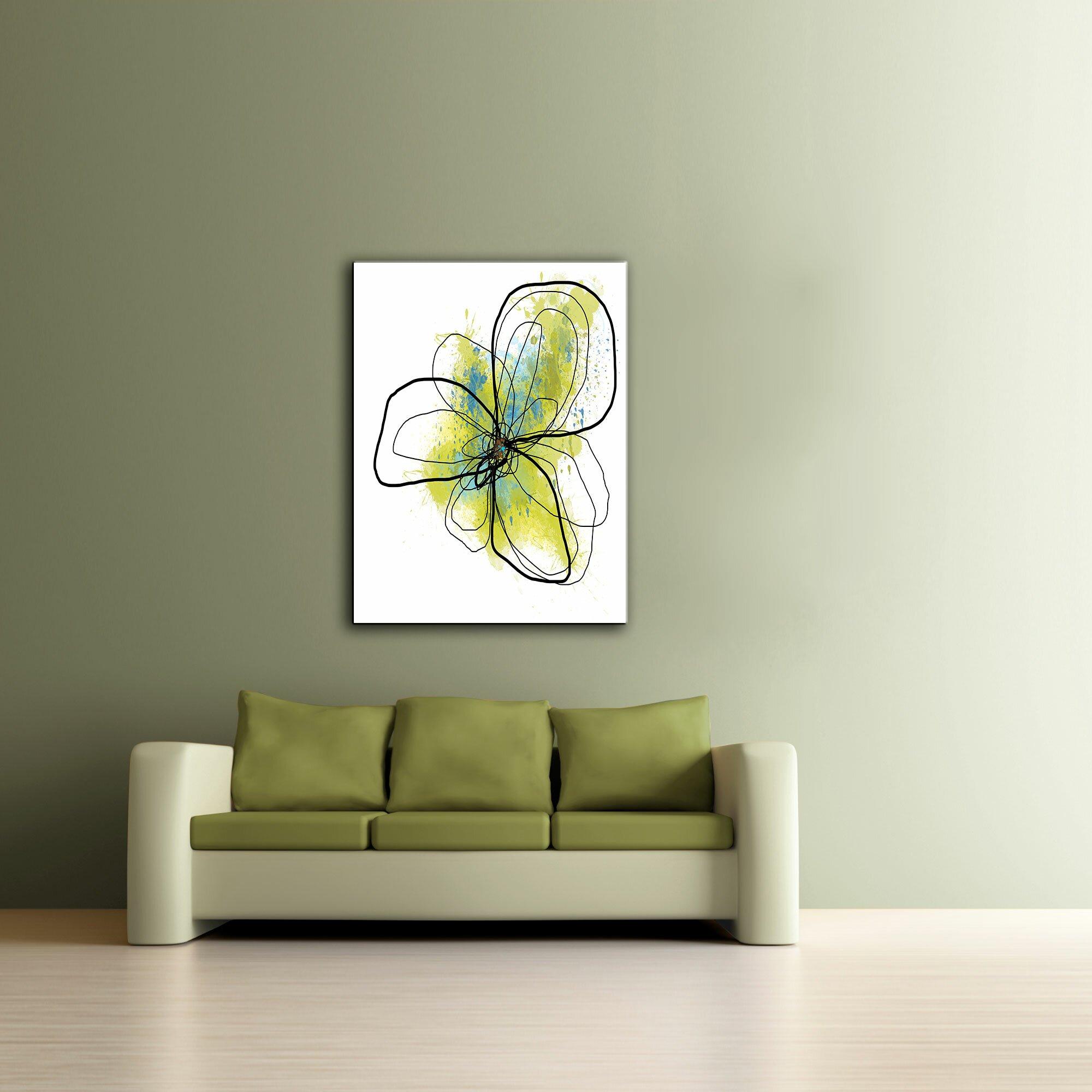 ArtWall ArtApeelz 'Citron Petals II' by Jan Weiss Graphic ...