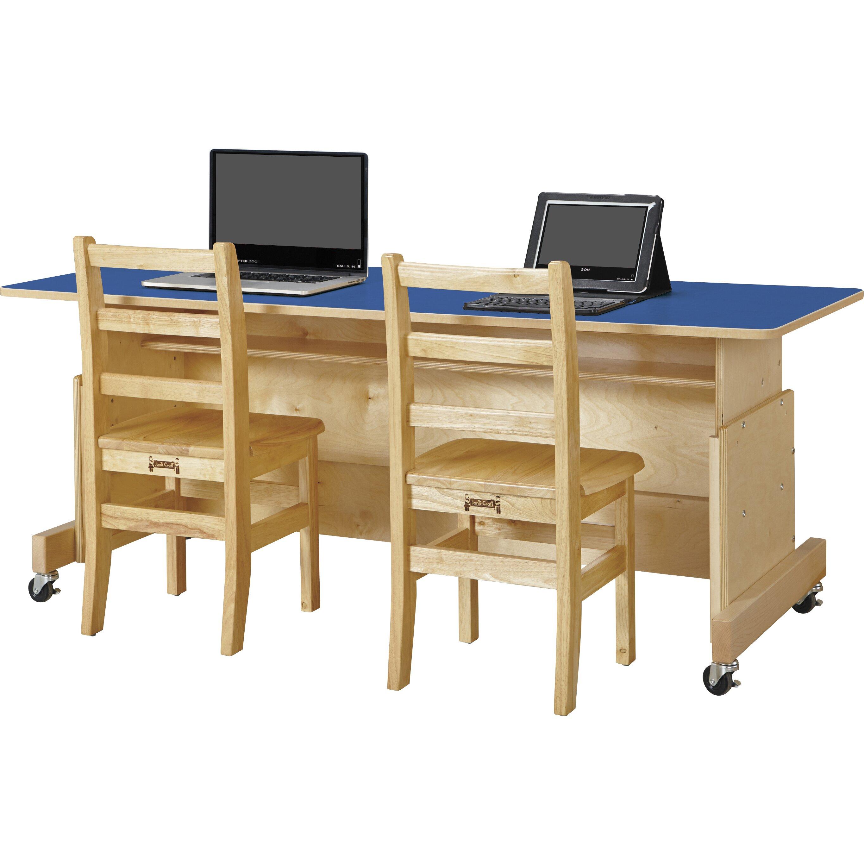 Jonti Craft Apollo Wood Adjustable Height Student puter