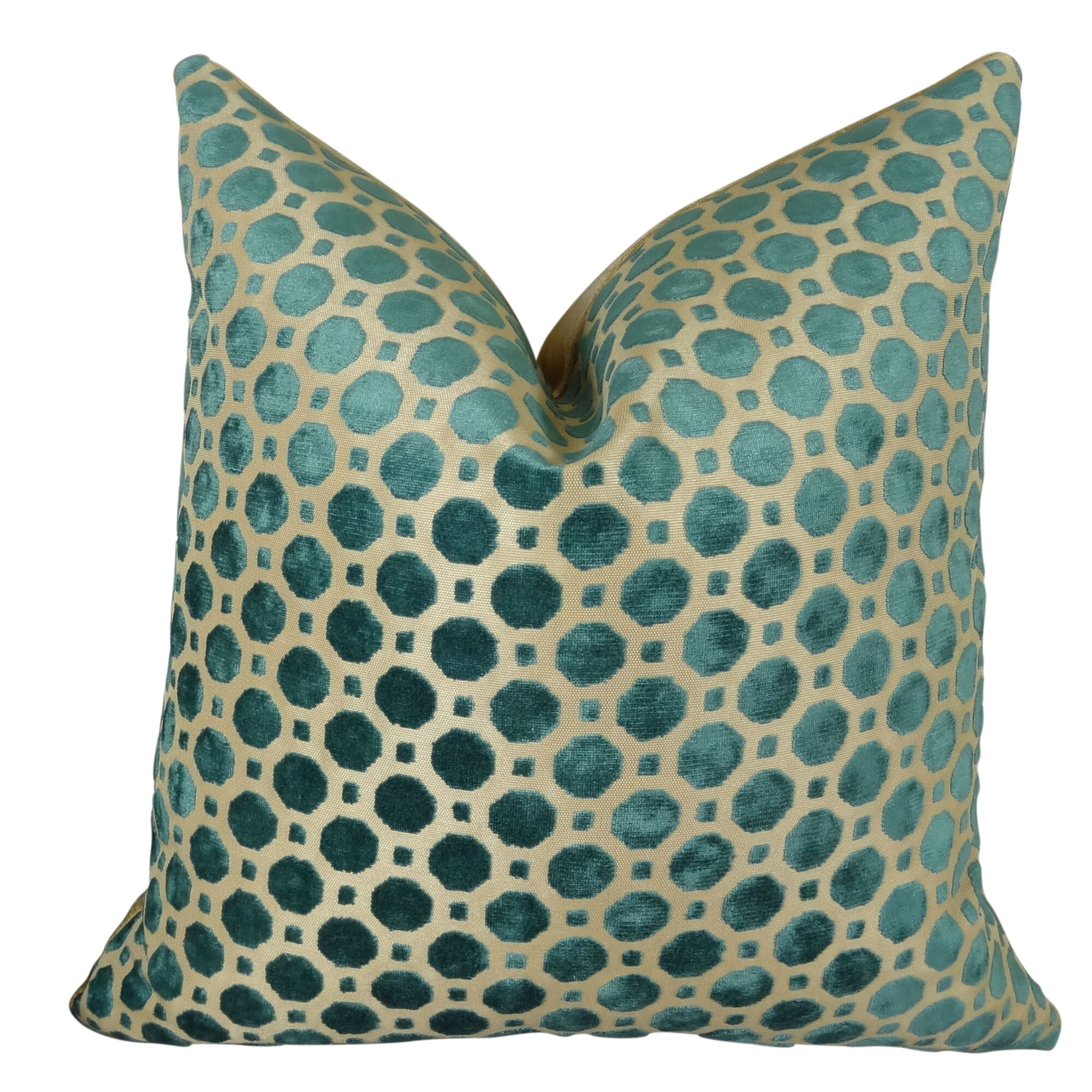 Throw Pillows Velvet : Plutus Brands Velvet Double Sided Throw Pillow Wayfair