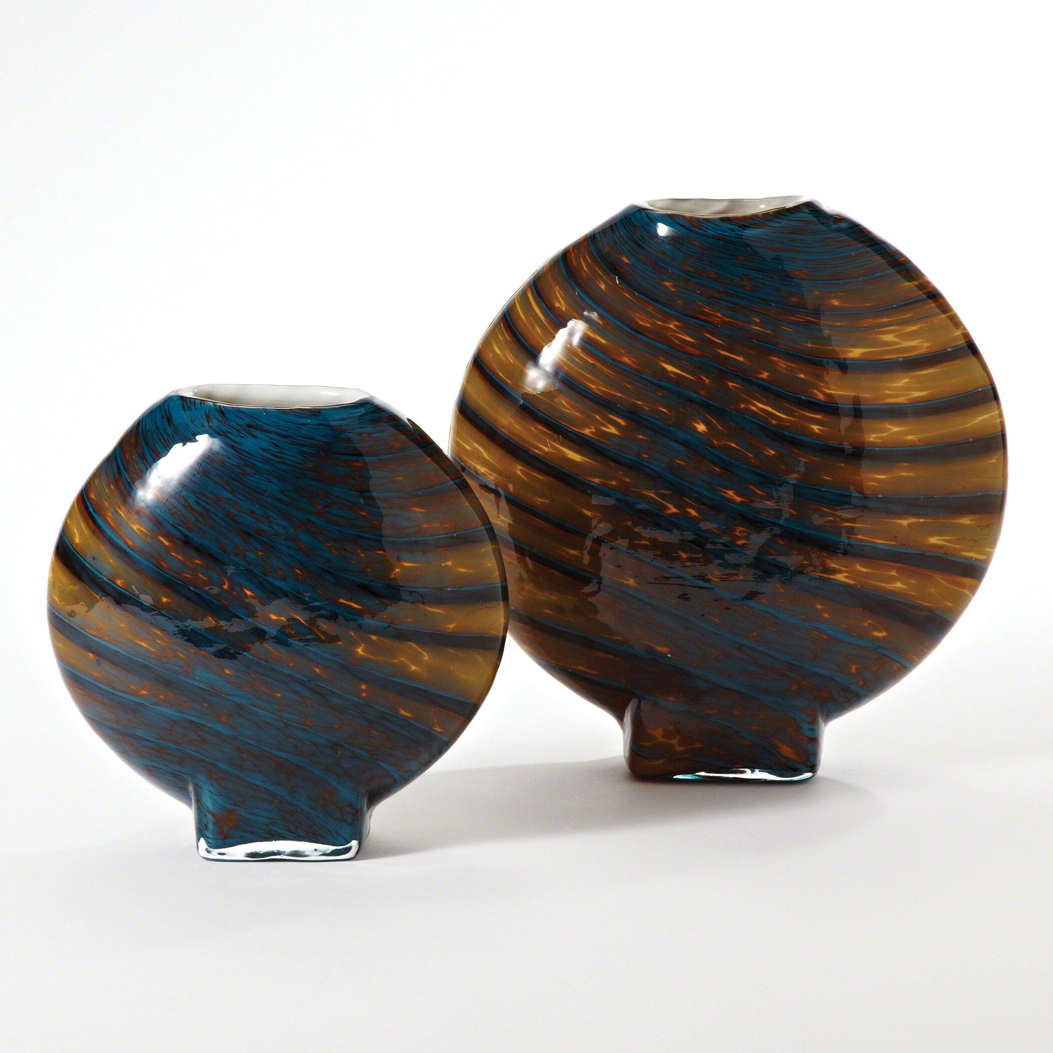 Global Views Vase: Global Views Swirl Vase & Reviews