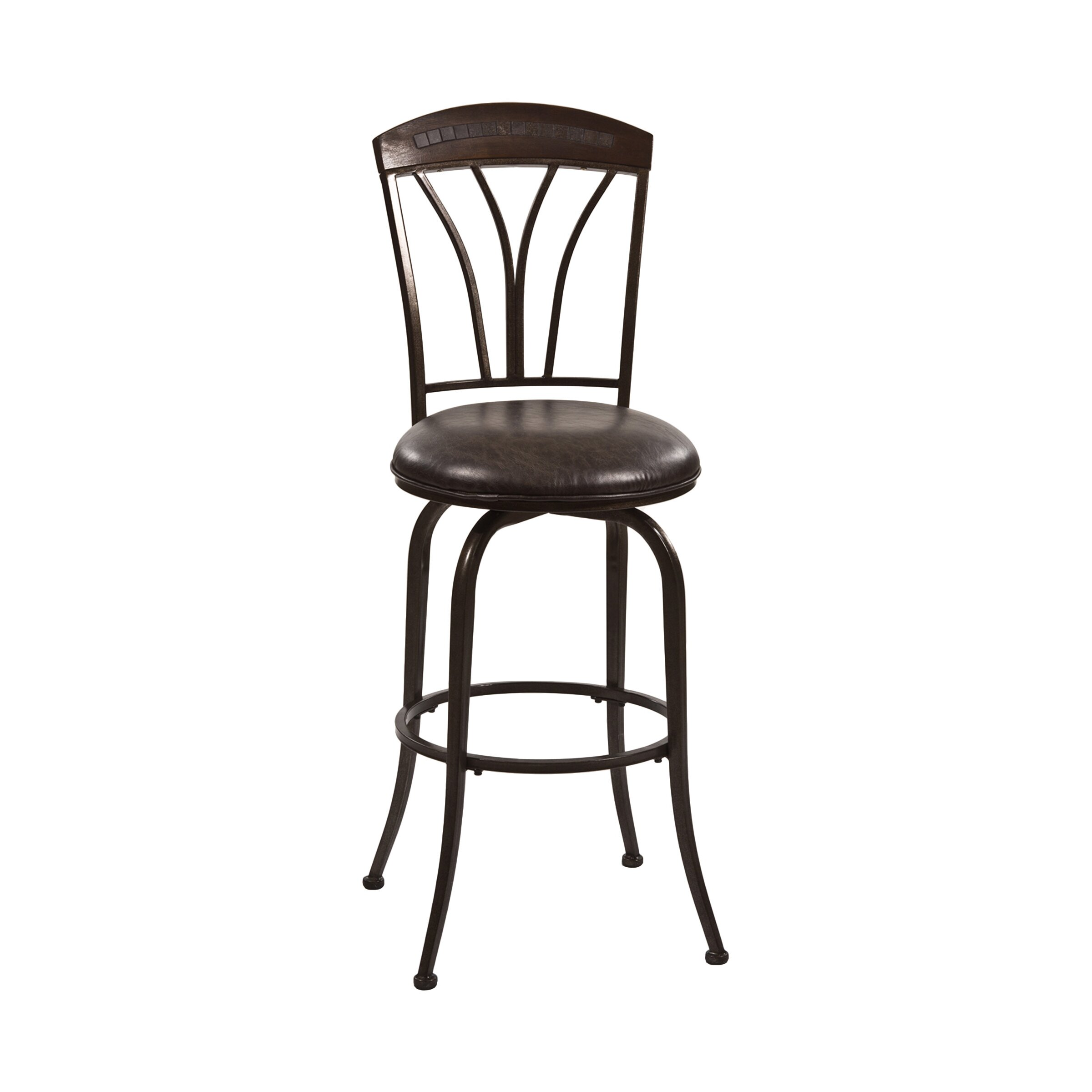 Hillsdale Marano 26 Quot Swivel Bar Stool With Cushion