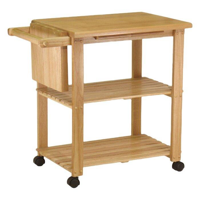 Winsome Basics Kitchen Cart Reviews Wayfair