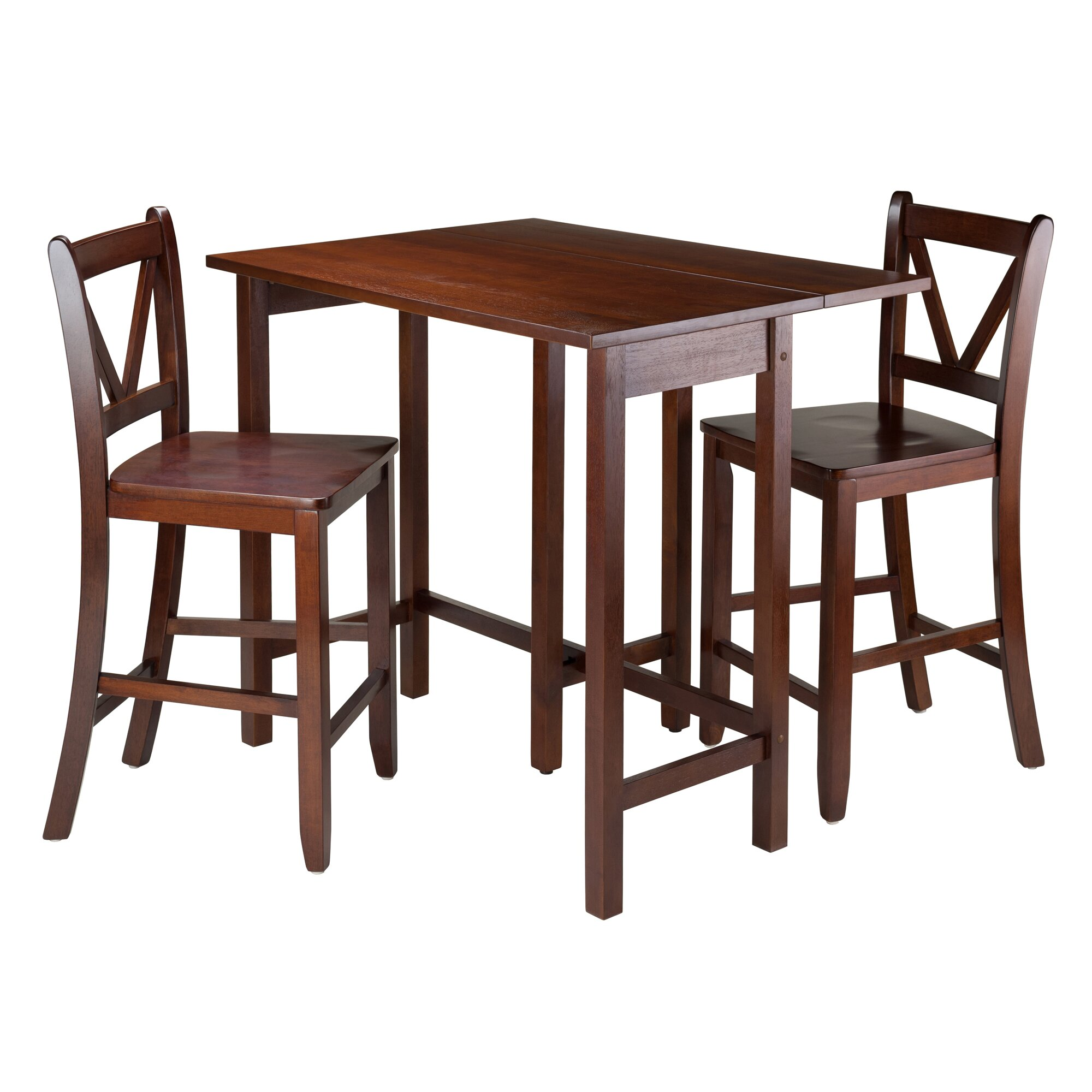 Winsome Lynnwood 3 Piece Dining Set Reviews Wayfair