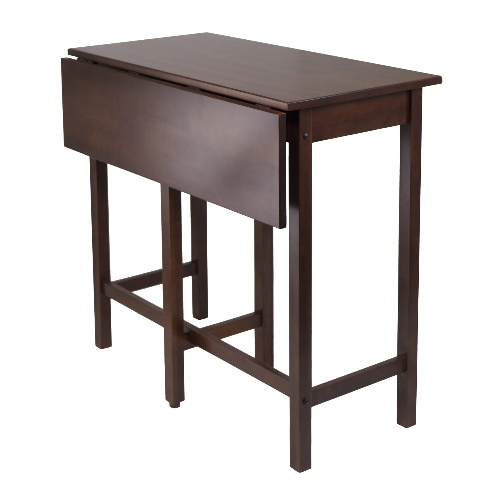 Winsome Lynnwood Counter Height Extendable Dining Table ...