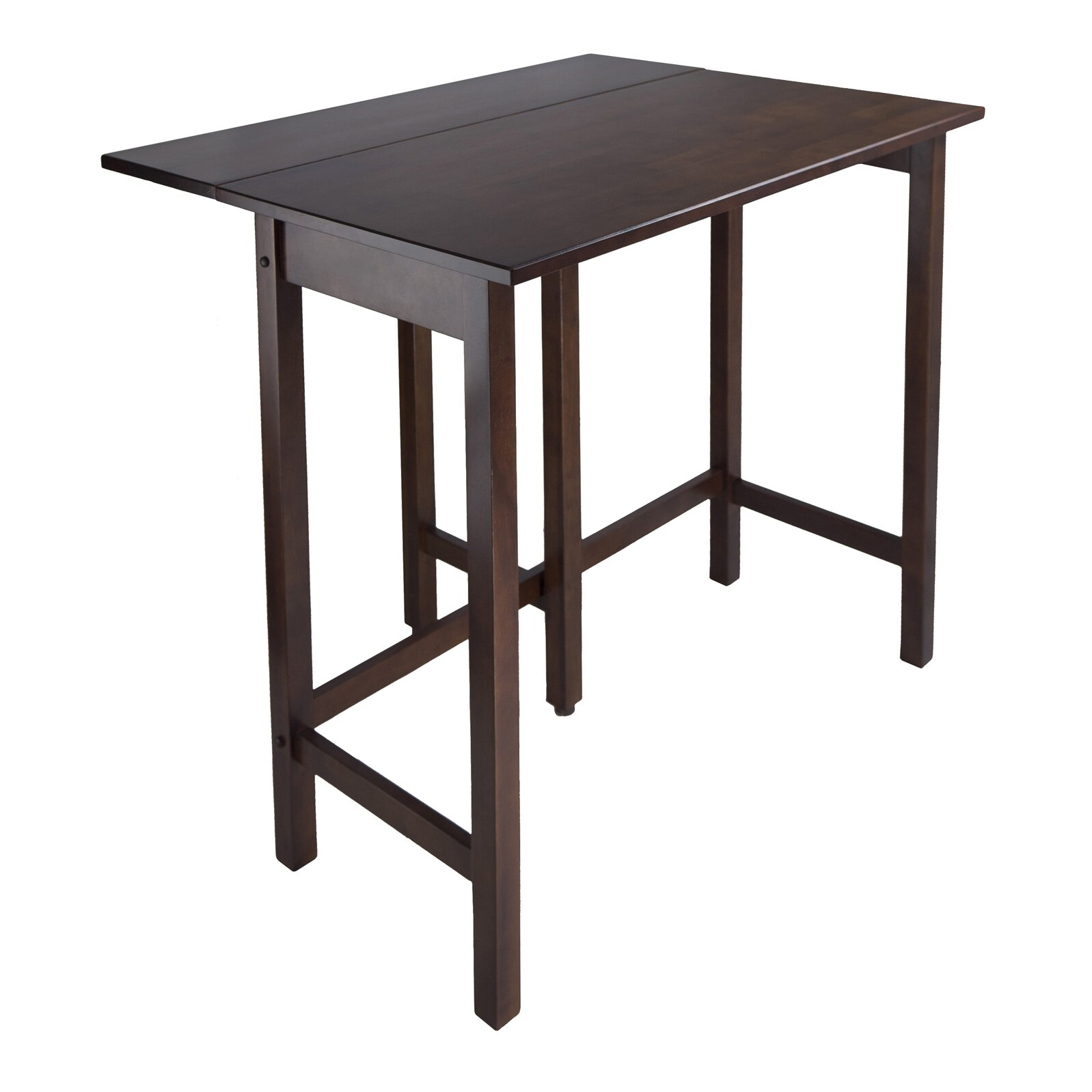 Winsome lynnwood counter height extendable dining table for Counter height dining table