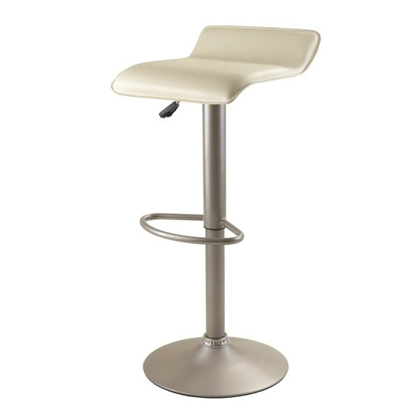 Winsome Airlift Adjustable Height Swivel Bar Stool