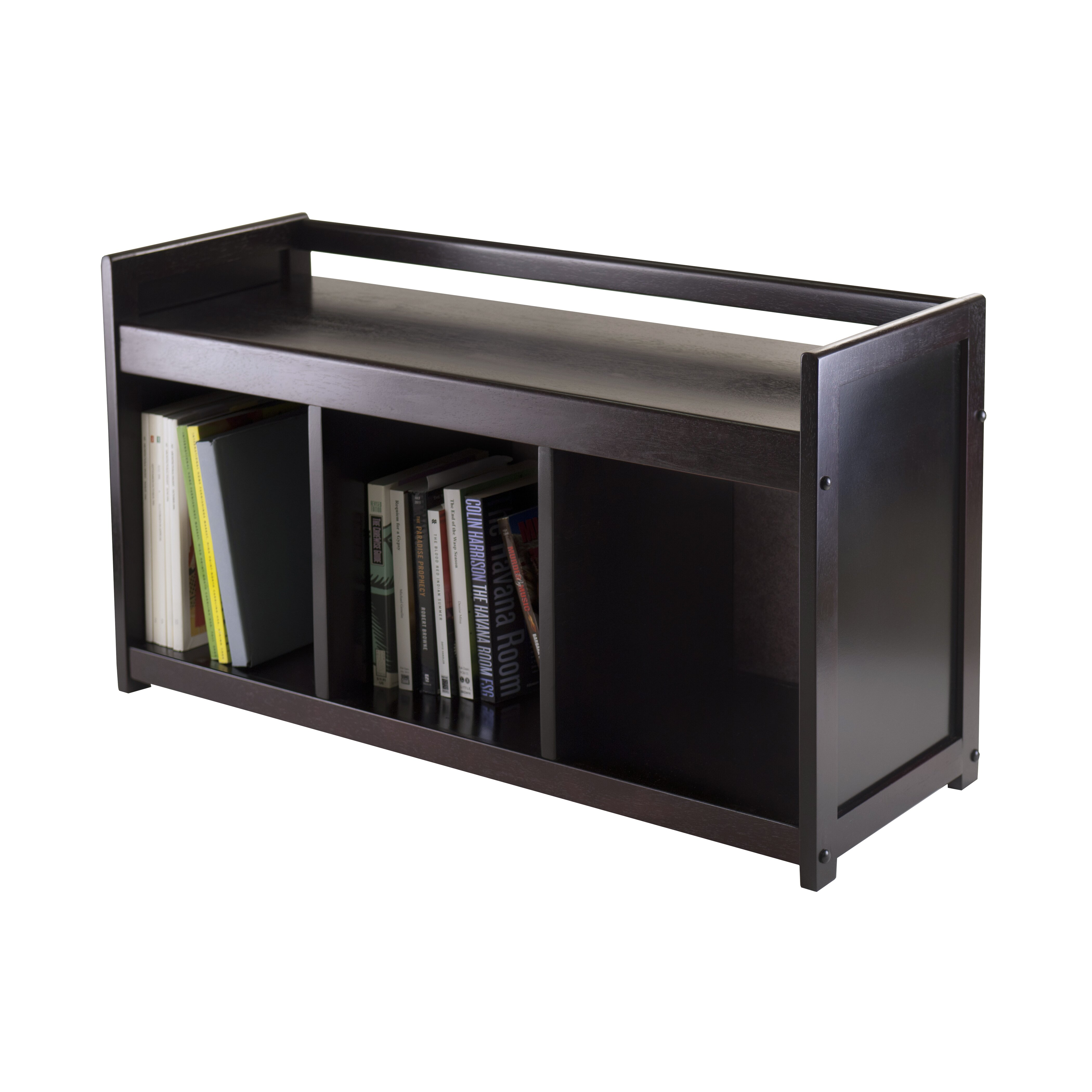Winsome Addison Wood Storage Bench Amp Reviews Wayfair