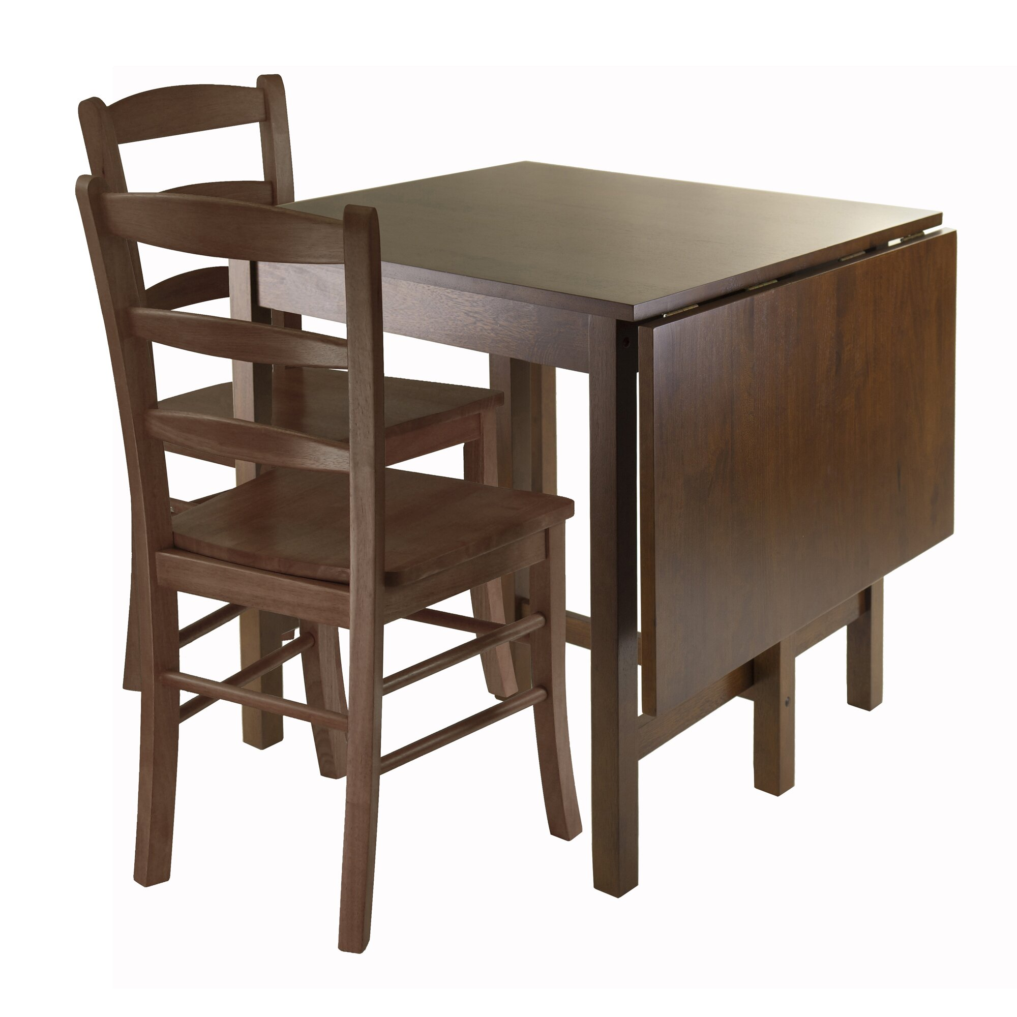 Winsome lynden 3 piece dining set reviews wayfair for Dining room 3 piece set