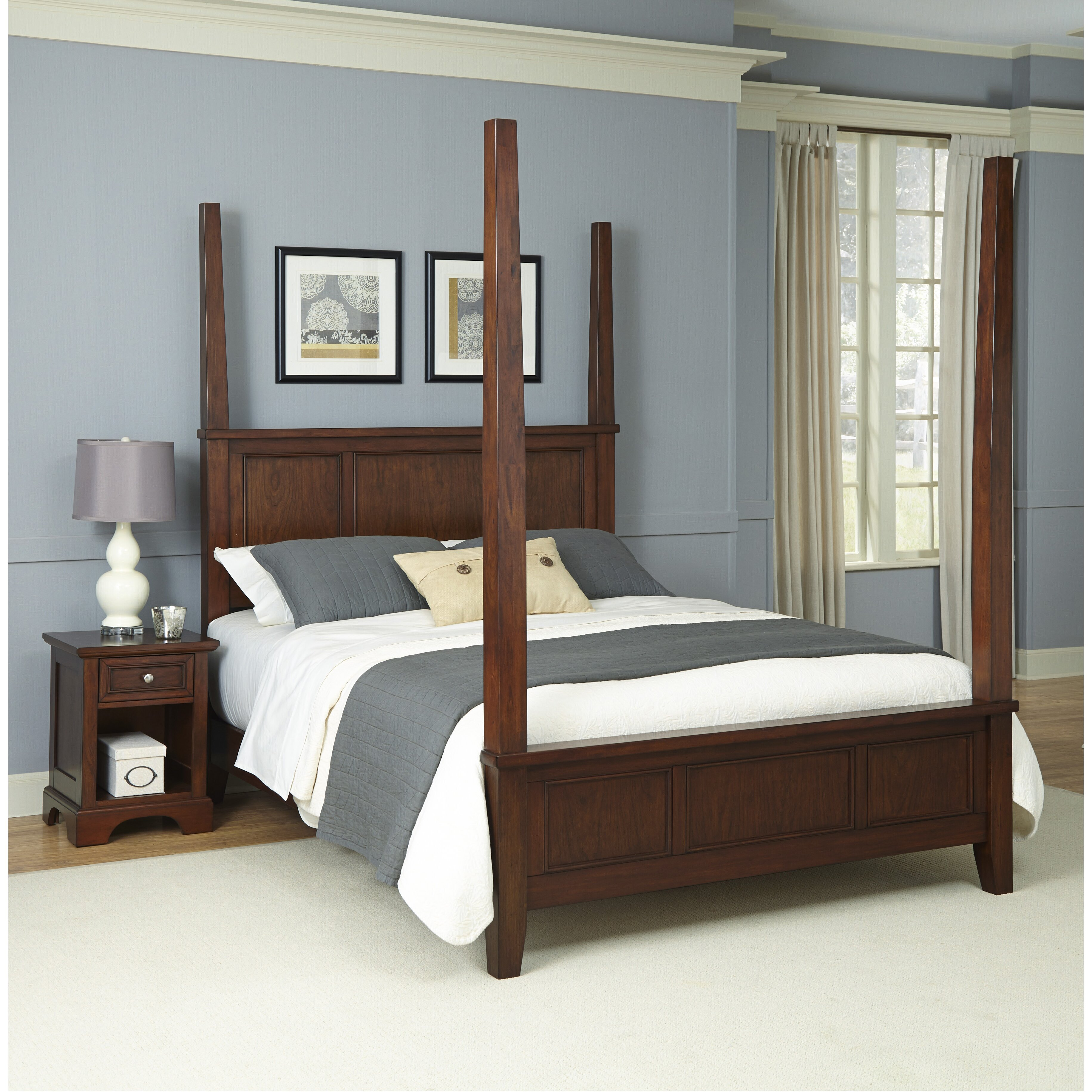 Home styles chesapeake four poster bed reviews wayfair - Beds styles pictures ...