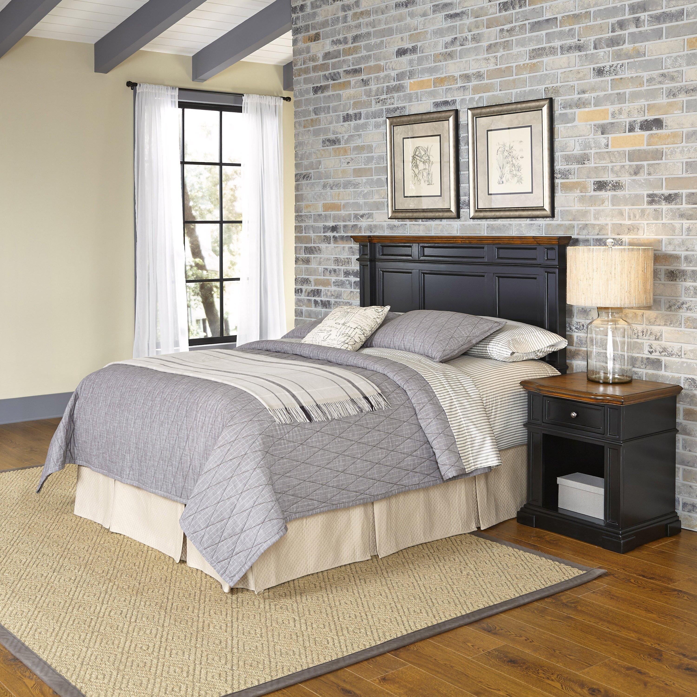 Home Styles Americana Platfrom 2 Piece Bedroom Set Reviews Wayfair