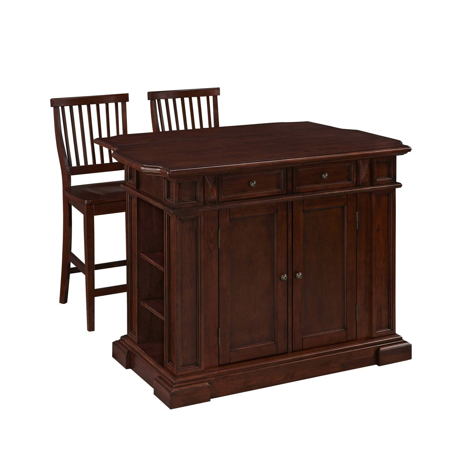 Home styles americana kitchen island set reviews wayfair Homestyles com