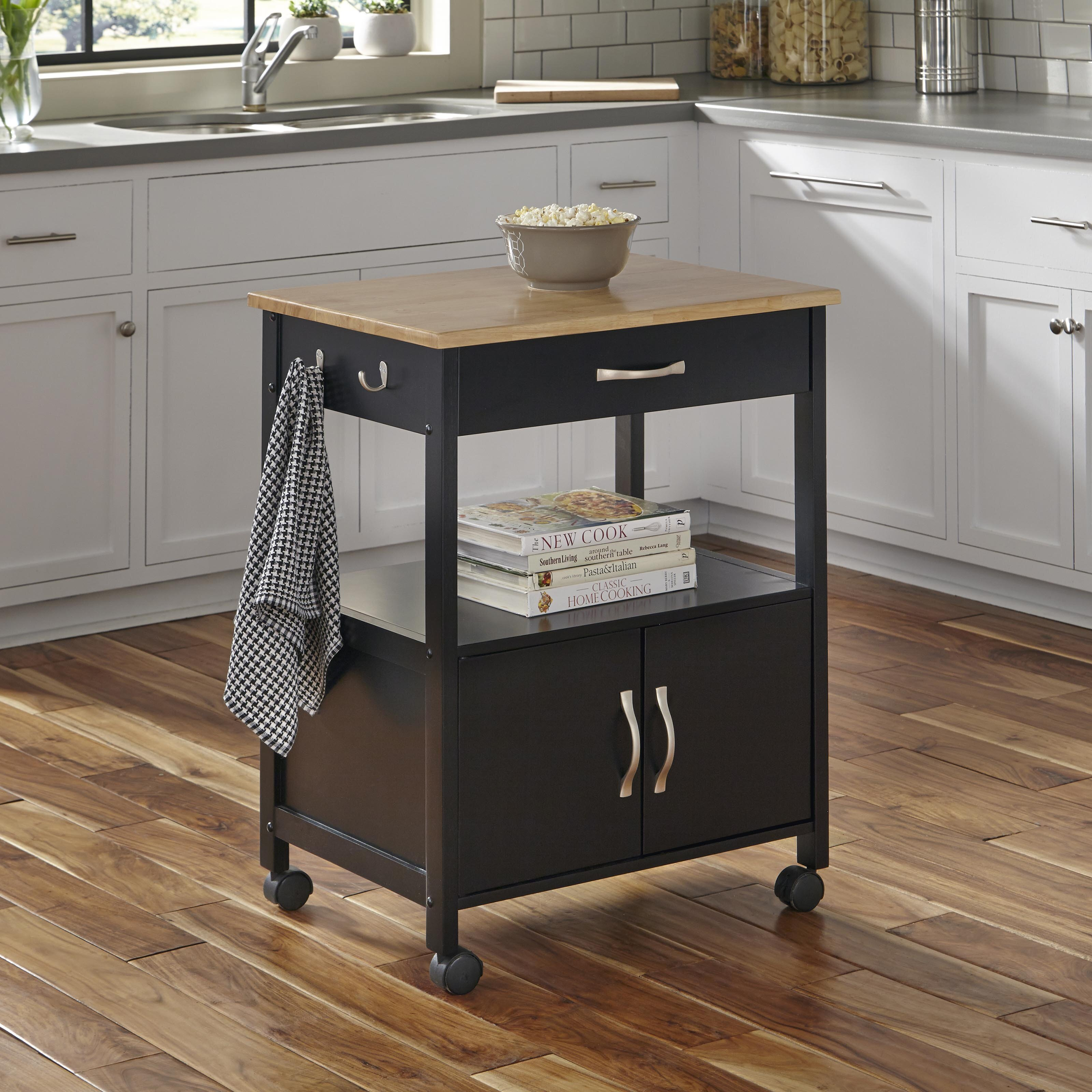 Home Styles Banner Kitchen Cart With Wood Top & Reviews