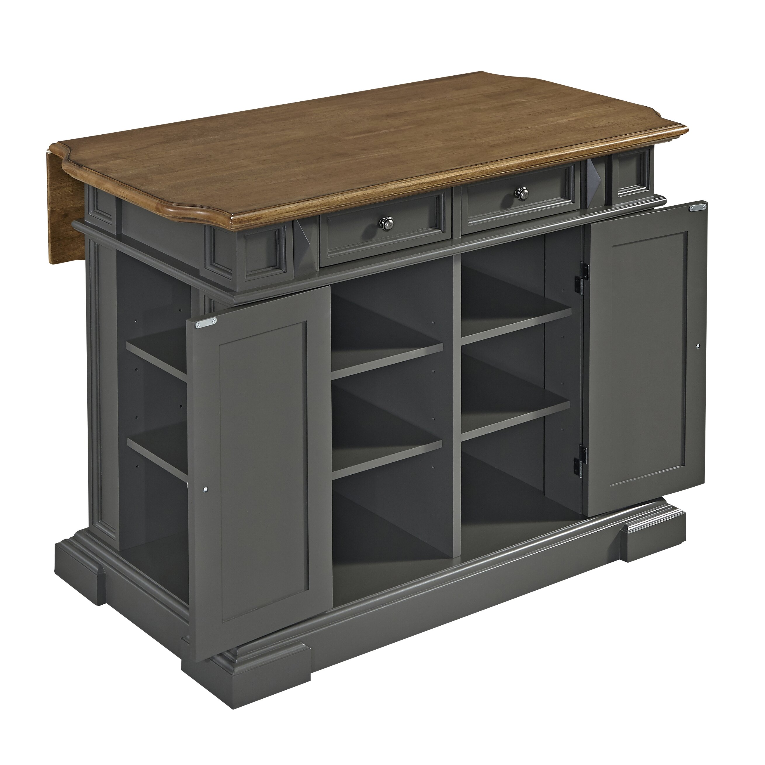 home styles americana kitchen island wayfair home styles americana kitchen island amp reviews wayfair