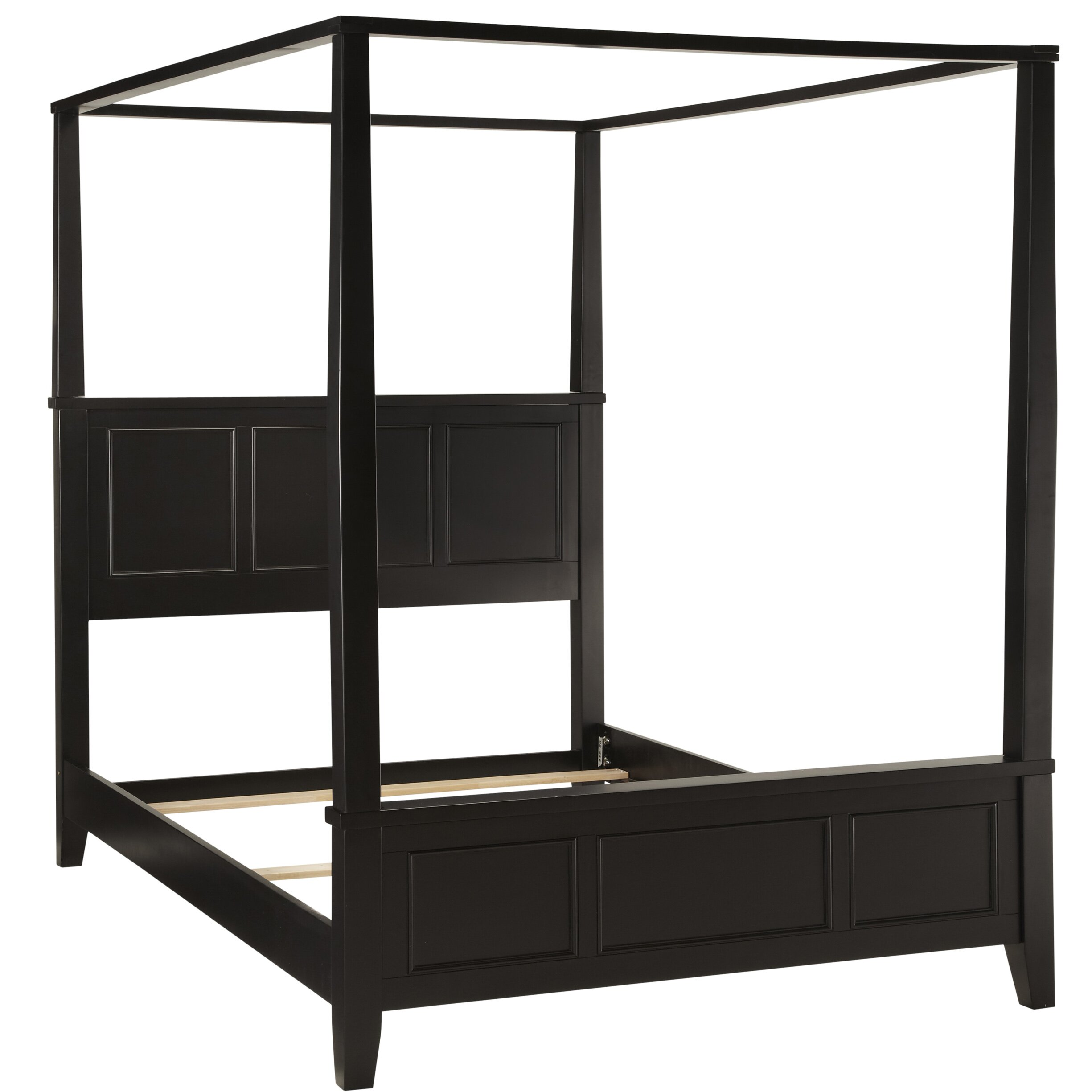 home styles bedford canopy 2 piece bedroom set reviews wayfair. Black Bedroom Furniture Sets. Home Design Ideas