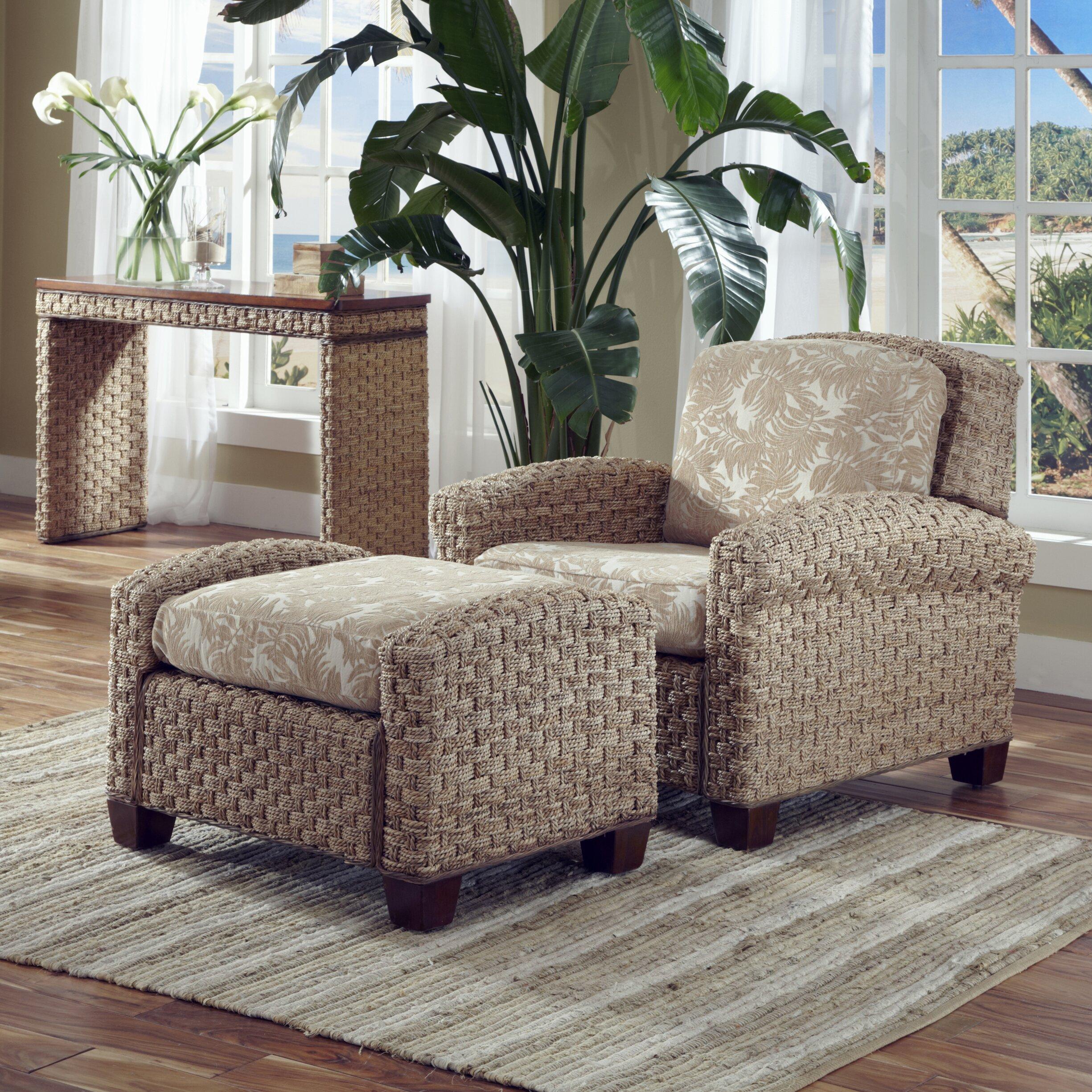 Home Styles Cabana Banana Ii Chair And Ottoman Amp Reviews