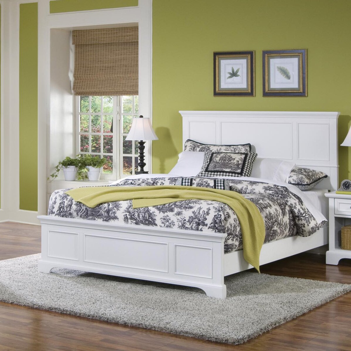 Home styles naples king panel bed reviews wayfair for Homestyles com