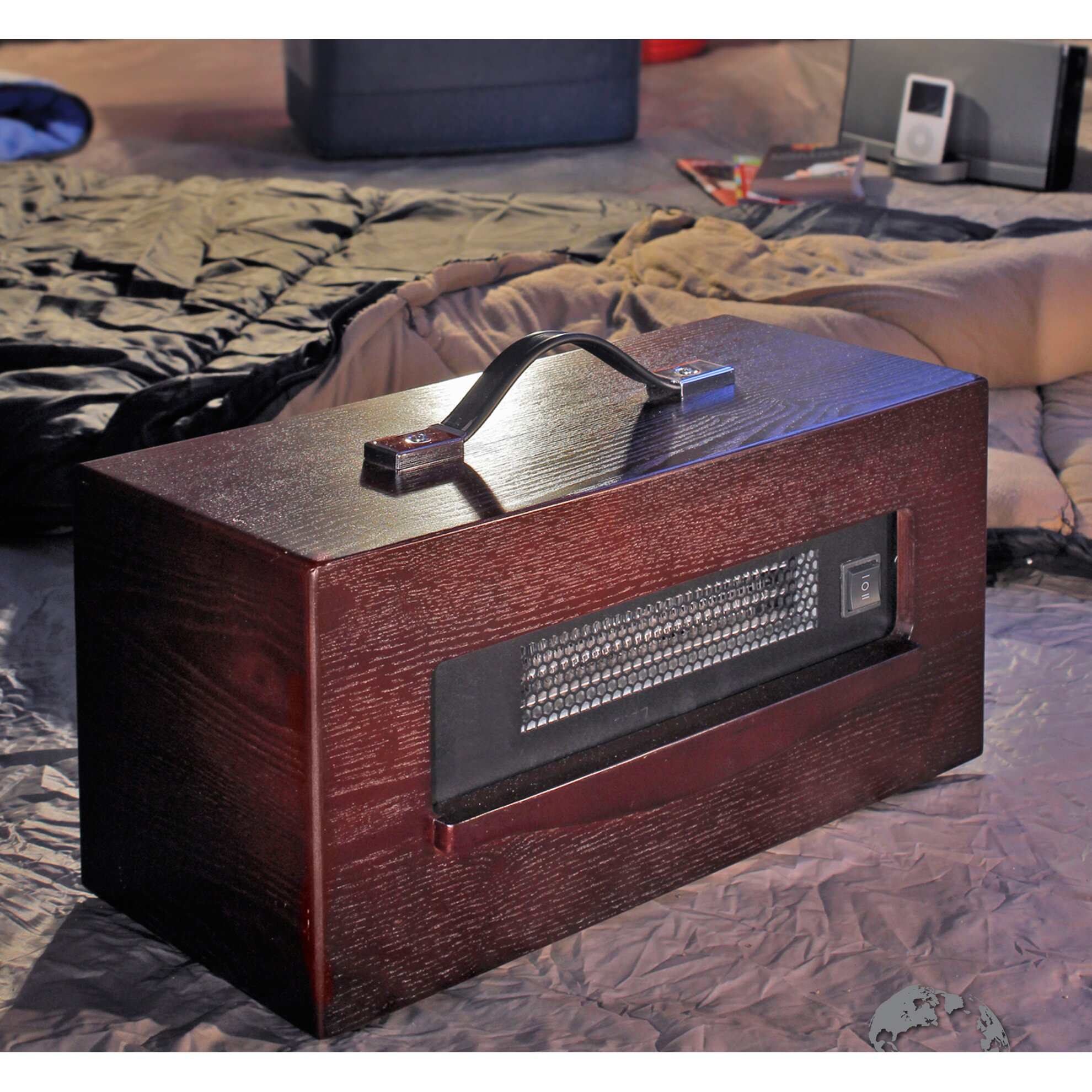 Infrared Dynamic 1,500 Watt Portable Electric Infrared Cabinet Heater